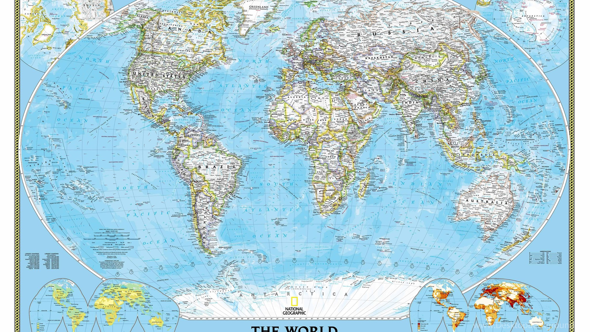 National geographic world map wall mural desktop background widescreen gumiabroncs Gallery