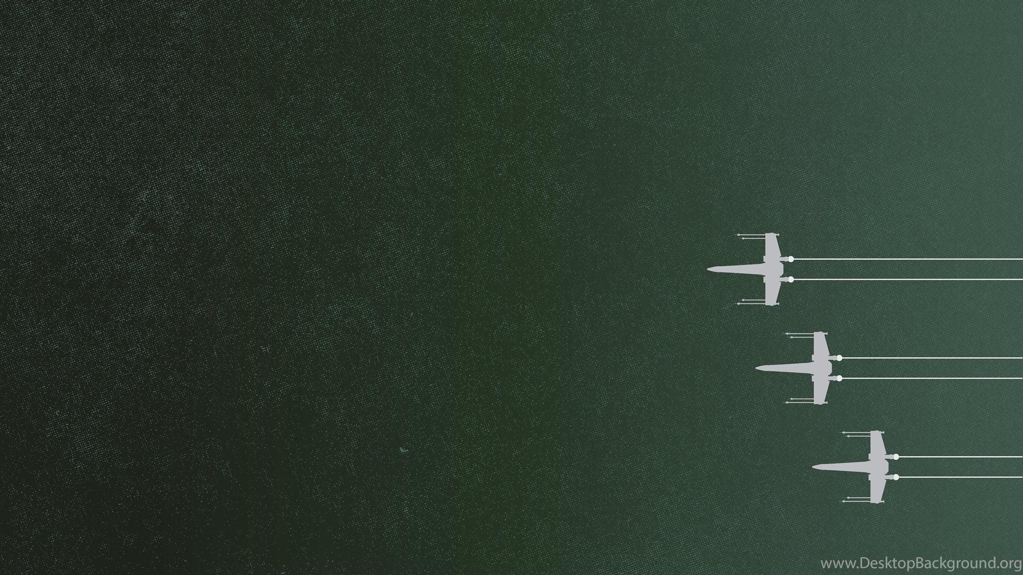 Star Wars X Wing Minimalism Wallpapers Hd Desktop And Mobile Desktop Background