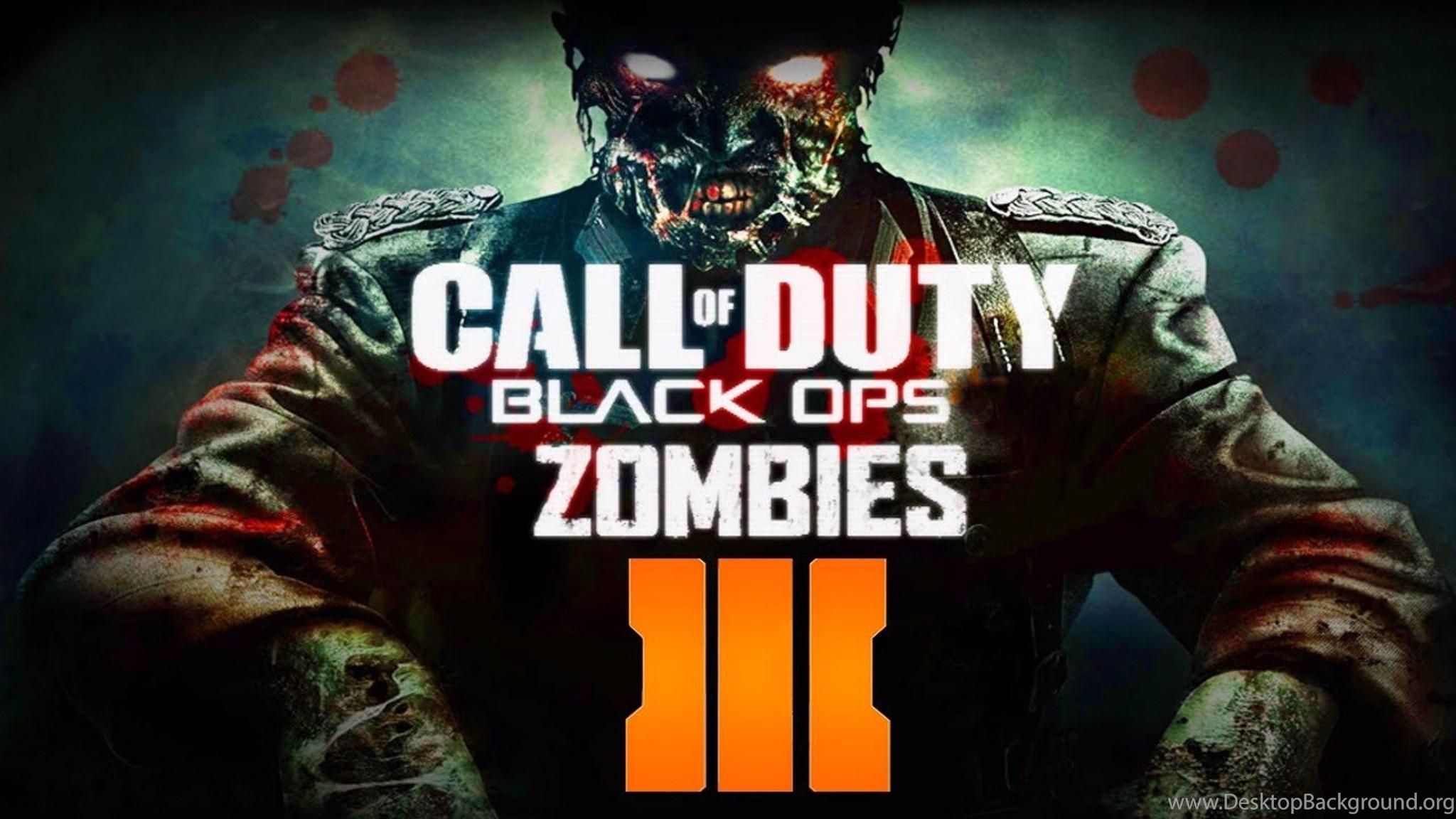 Zombies Call Of Duty Black Ops 3 4k Wallpapers Desktop Background