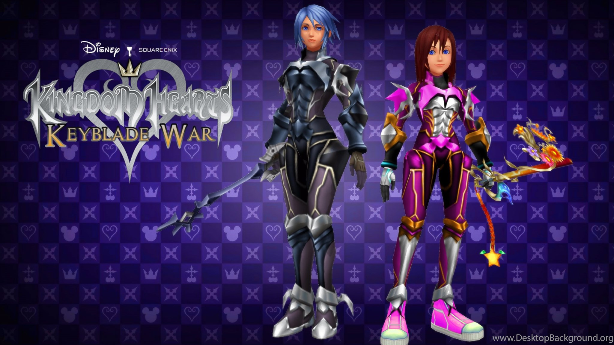 Kingdom Hearts Keyblade War Custom Wallpapers By Todsen19 On