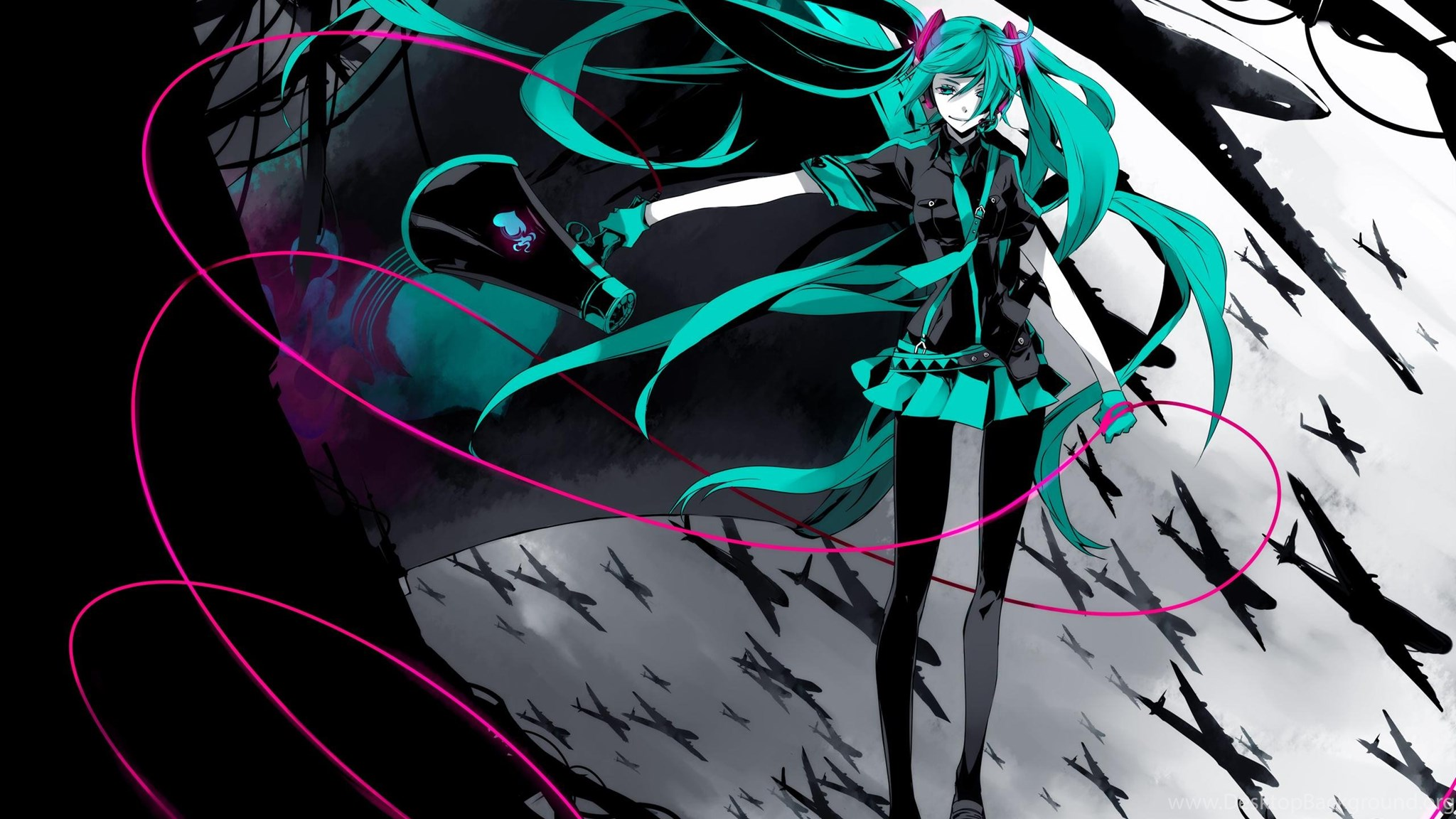 Hatsune Miku Vocaloid Wallpapers Desktop Background