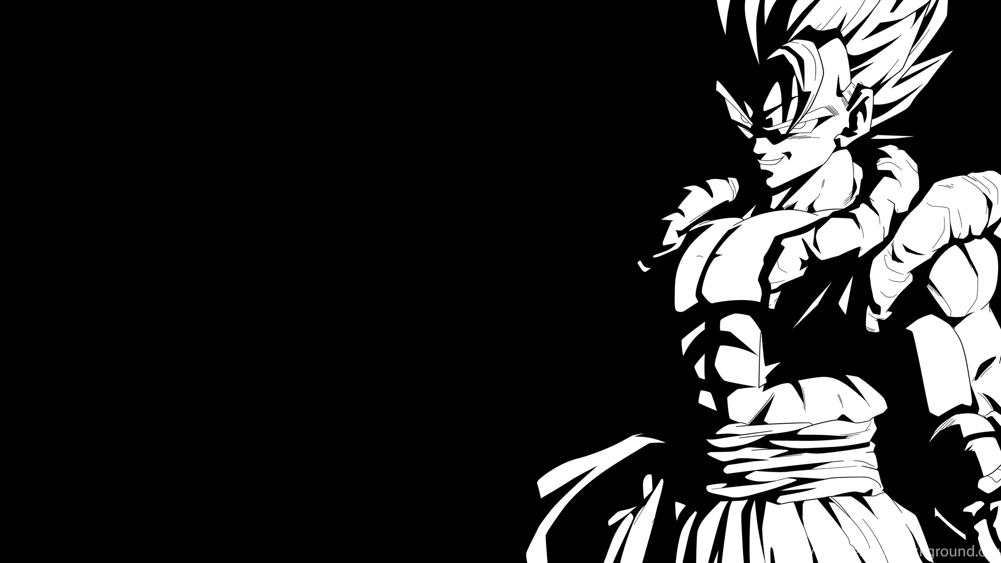 Super Gogeta Black And White 4k Wallpapers By Rayzorblade189 On