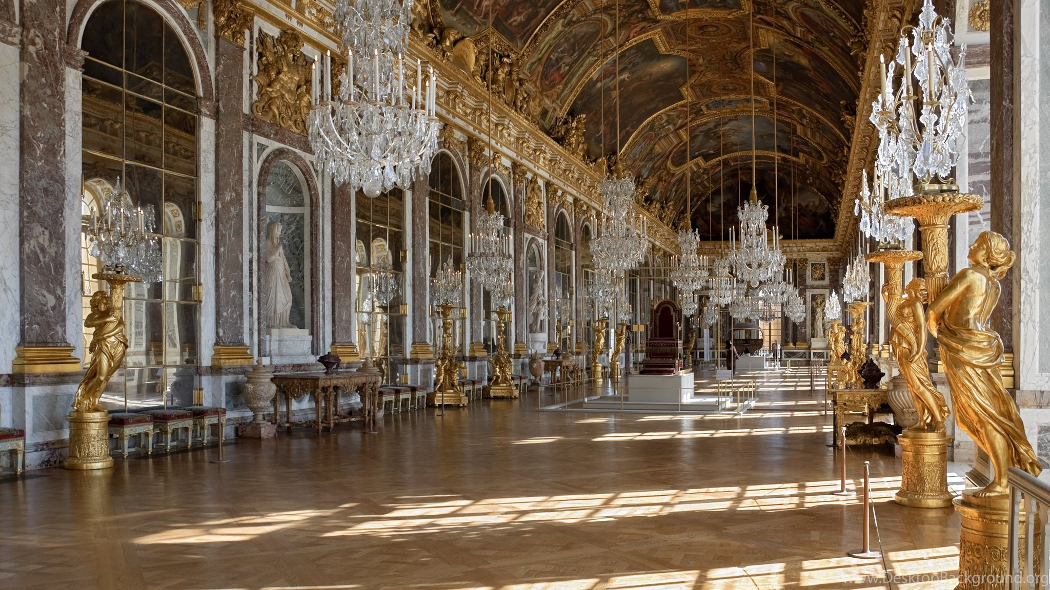 Chateau De Versailles Palace France French Building Design