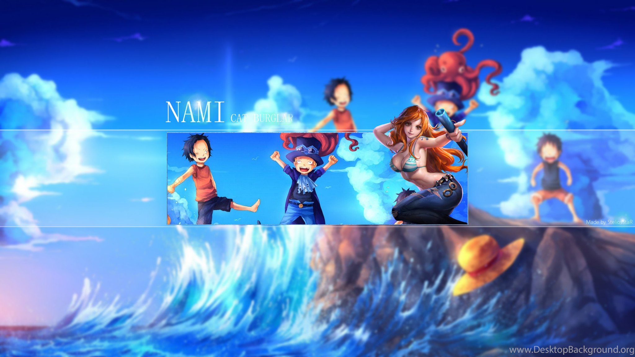 One Piece Nami Wallpapers By Steliosstar On Deviantart Desktop