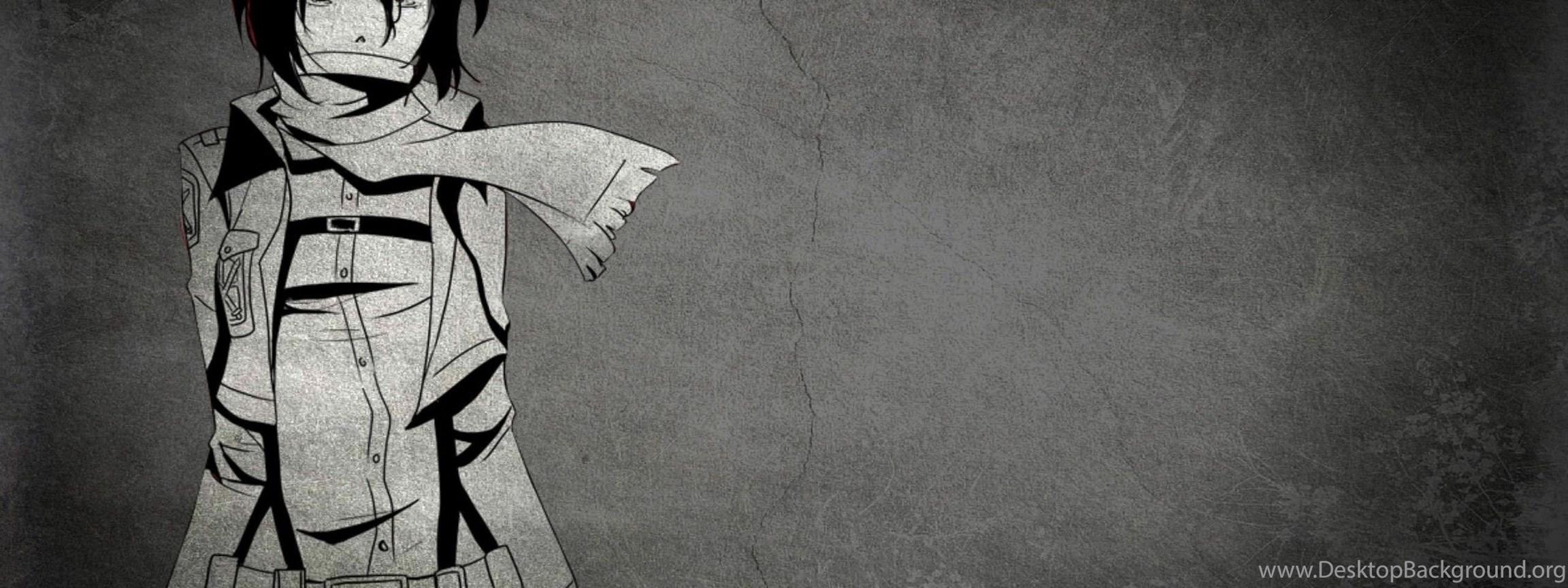 Mikasa Ackerman Shingeki No Kyojin Anime Hd Wallpaper 2560x1600