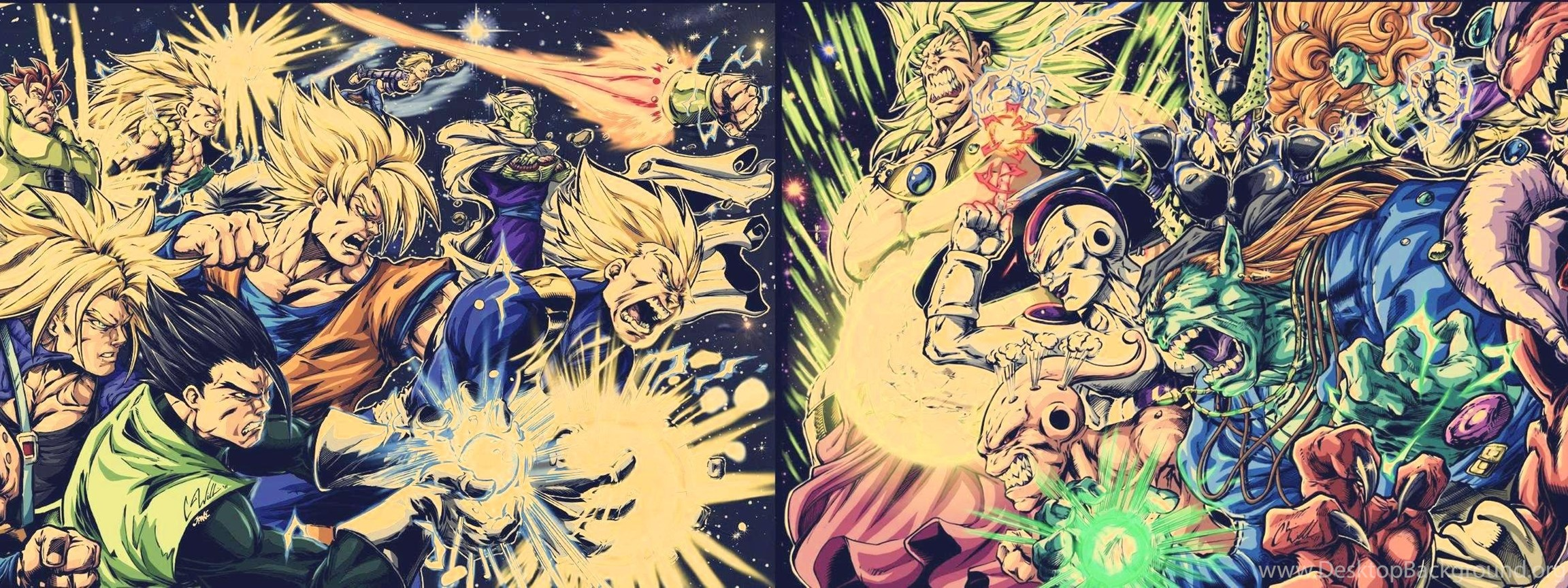 Dragon Ball Z Wallpapers Hd Free Backgrounds For Desktop Mobile