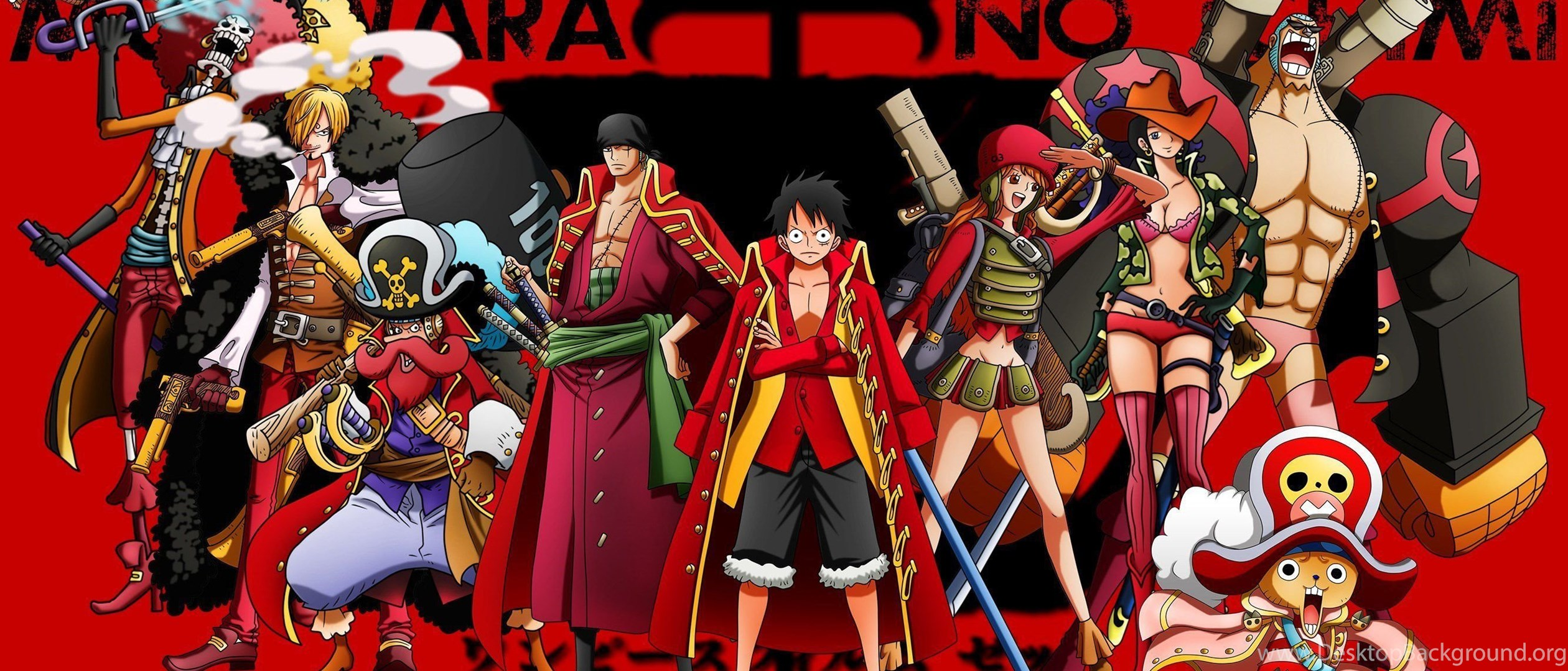 Collection Image Wallpaper One Piece Dual Monitor Wallpaper