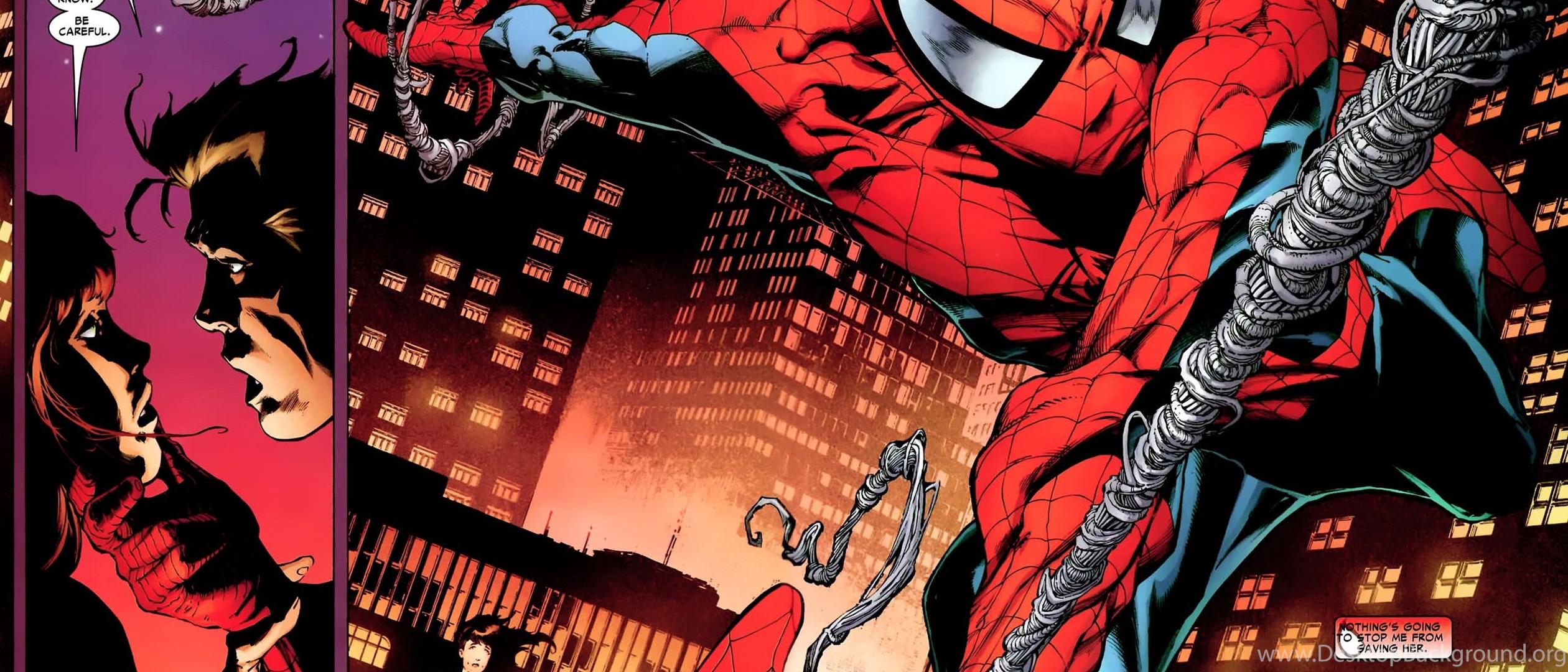 Spiderman Comics Spider Man Superhero Wallpapers Desktop Background