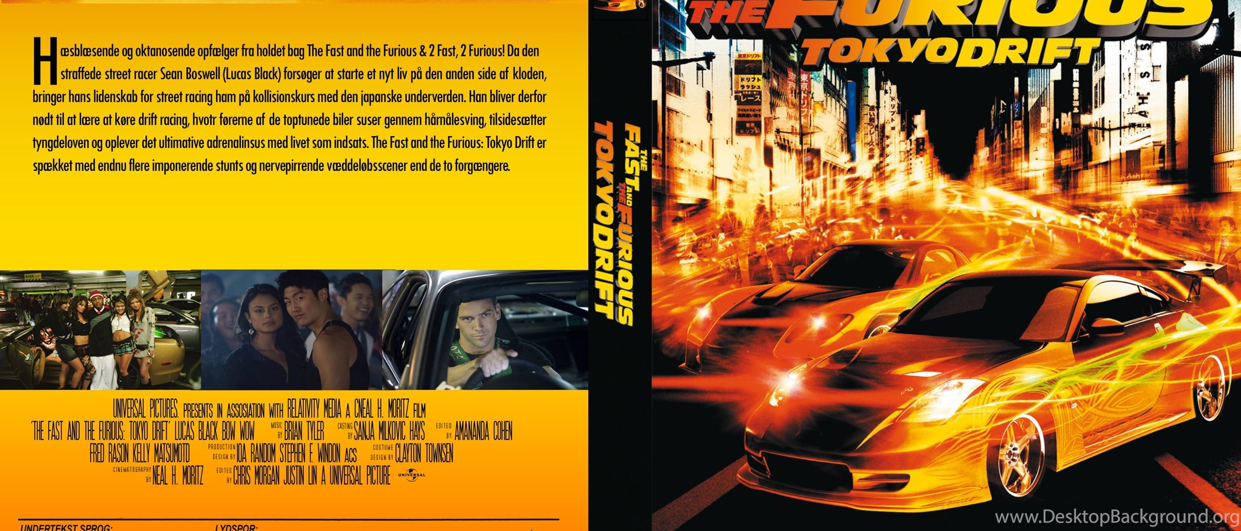 5 The Fast And The Furious Tokyo Drift Hd Wallpapers Desktop