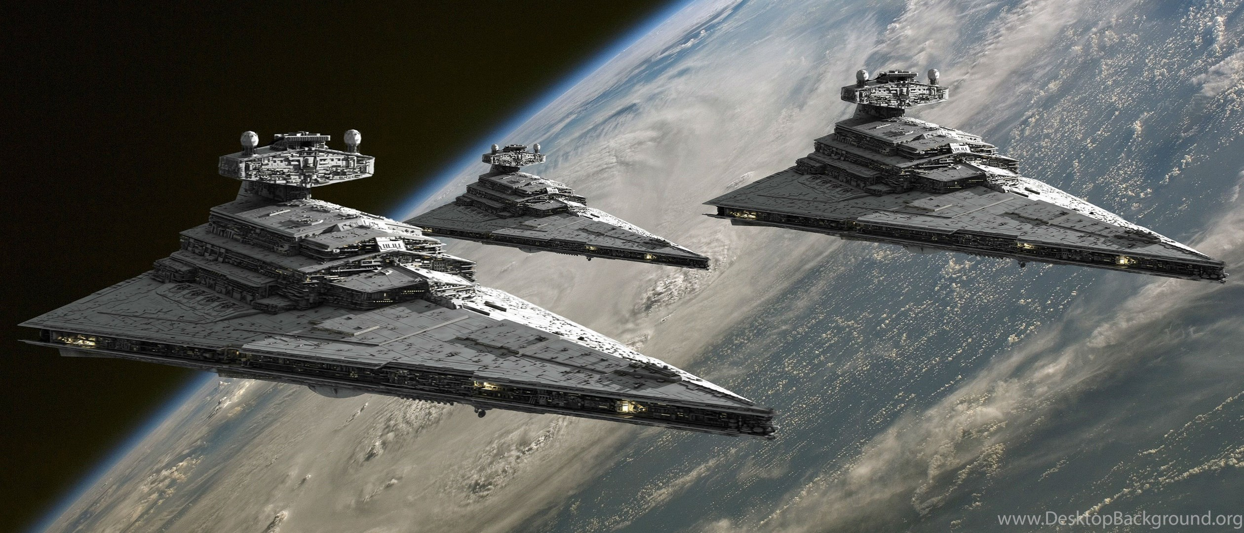 Star Destroyer Star Wars Desktop Background