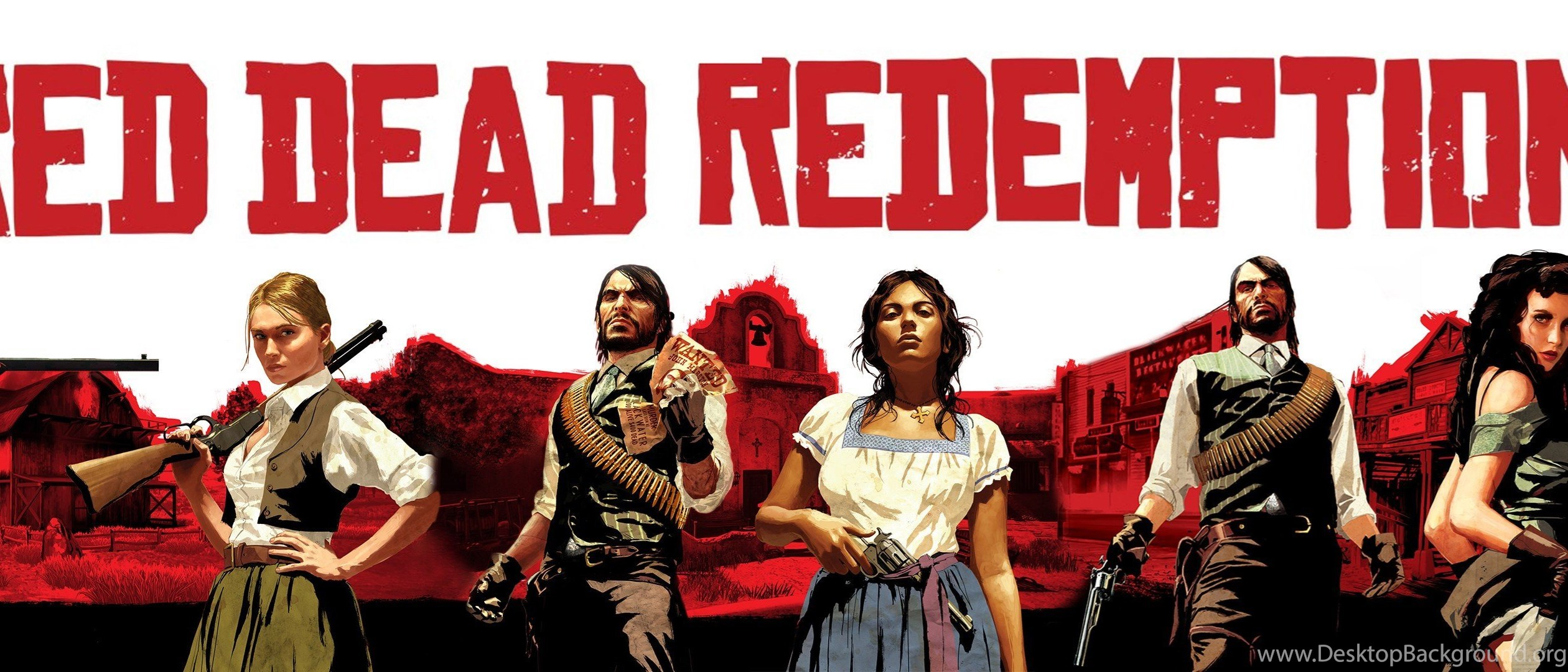 Red Dead Redemption Western Action Adventure 64 Wallpapers