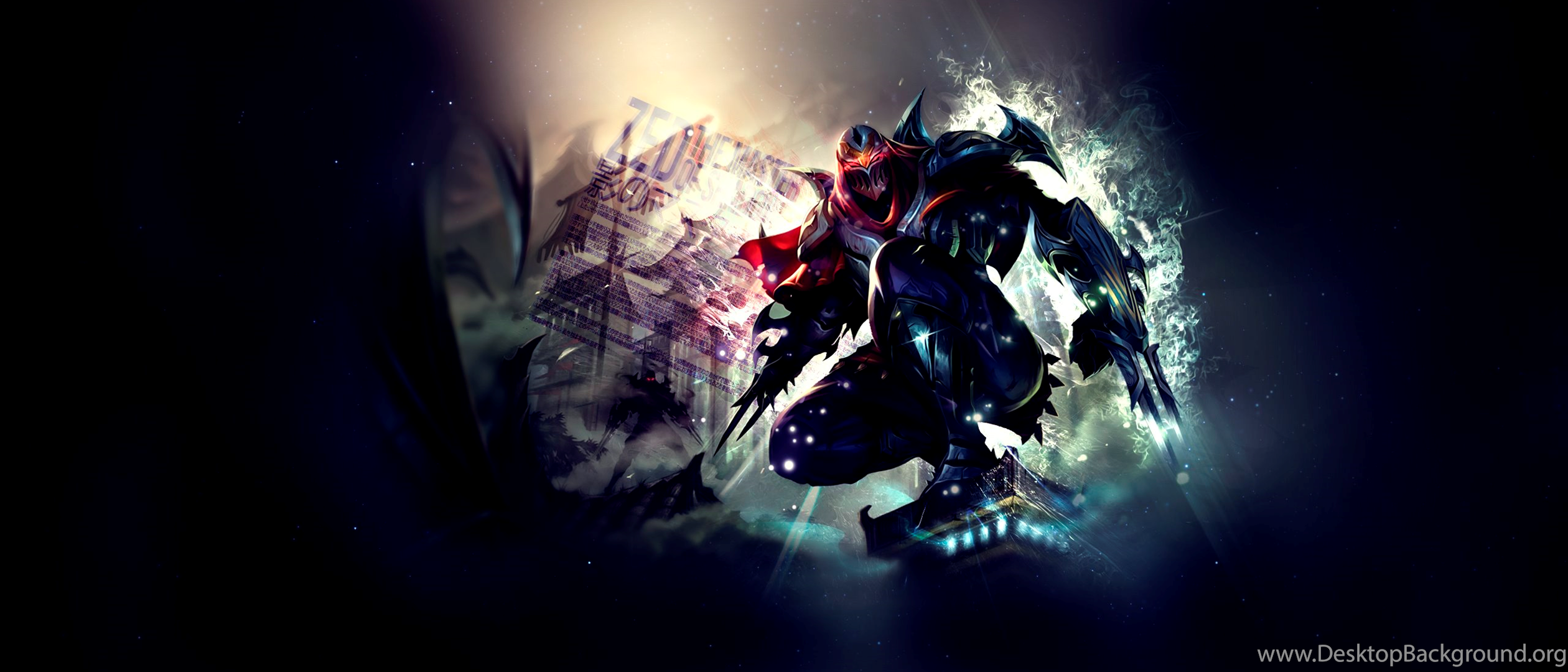 Zed Fan Art League Of Legends Wallpapers Desktop Background