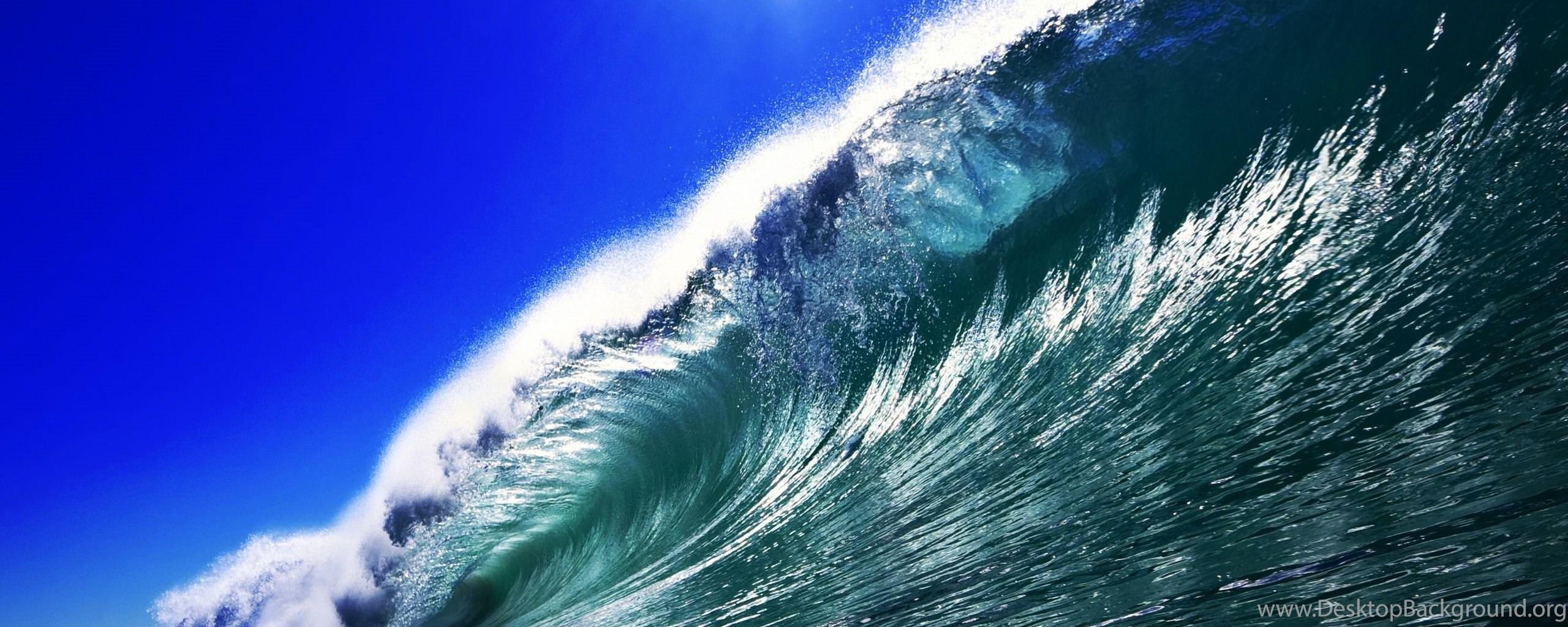 Ocean Waves Desktop Wallpaper