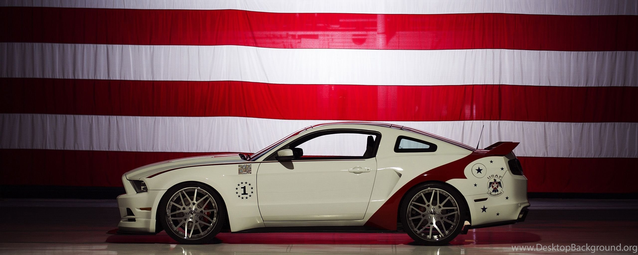 2014 Us Air Force Thunderbirds Edition Ford Mustang Gt Wallpapers