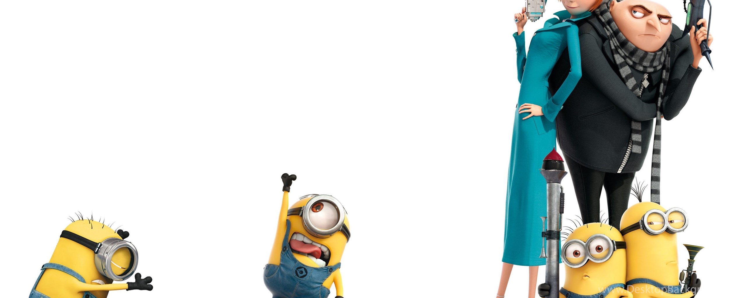 despicable me wallpaper minions 64 images - HD 2560×960
