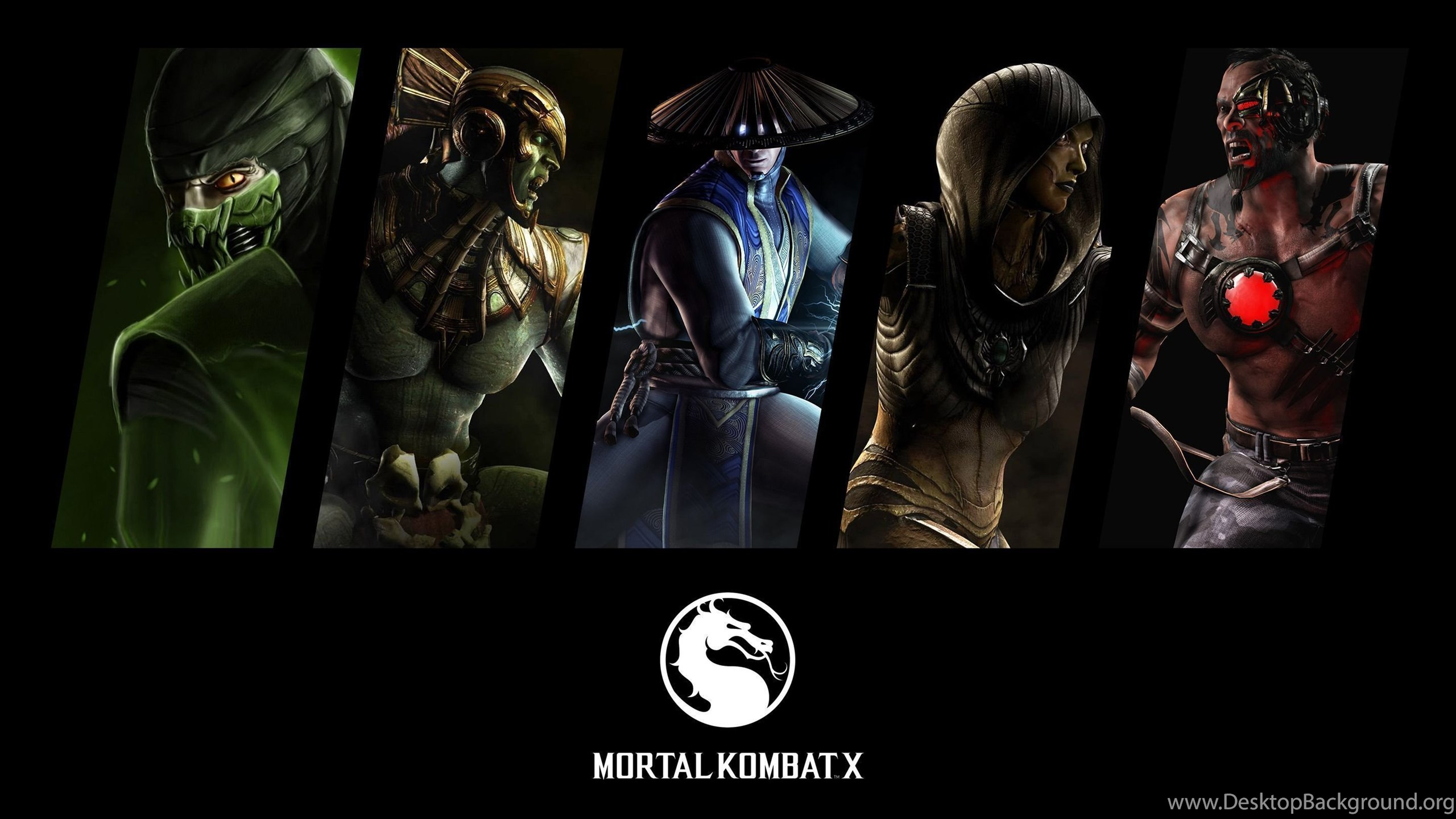 Sub Zero Mortal Kombat X Wallpapers Game Wallpapers Desktop Background