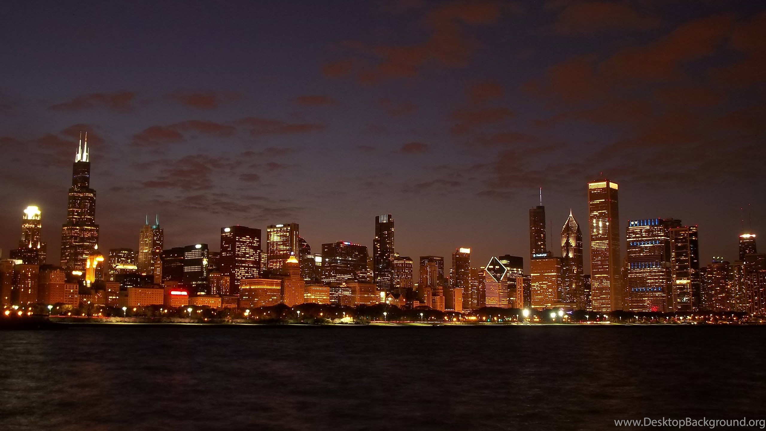 Pin chicago skyline wallpapers hd on pinterest chicago skyline netbook voltagebd Gallery