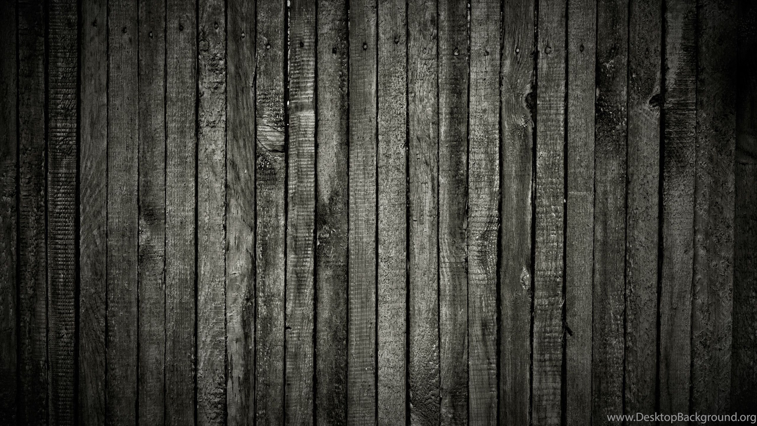 Black Wood Texture Desktop Background