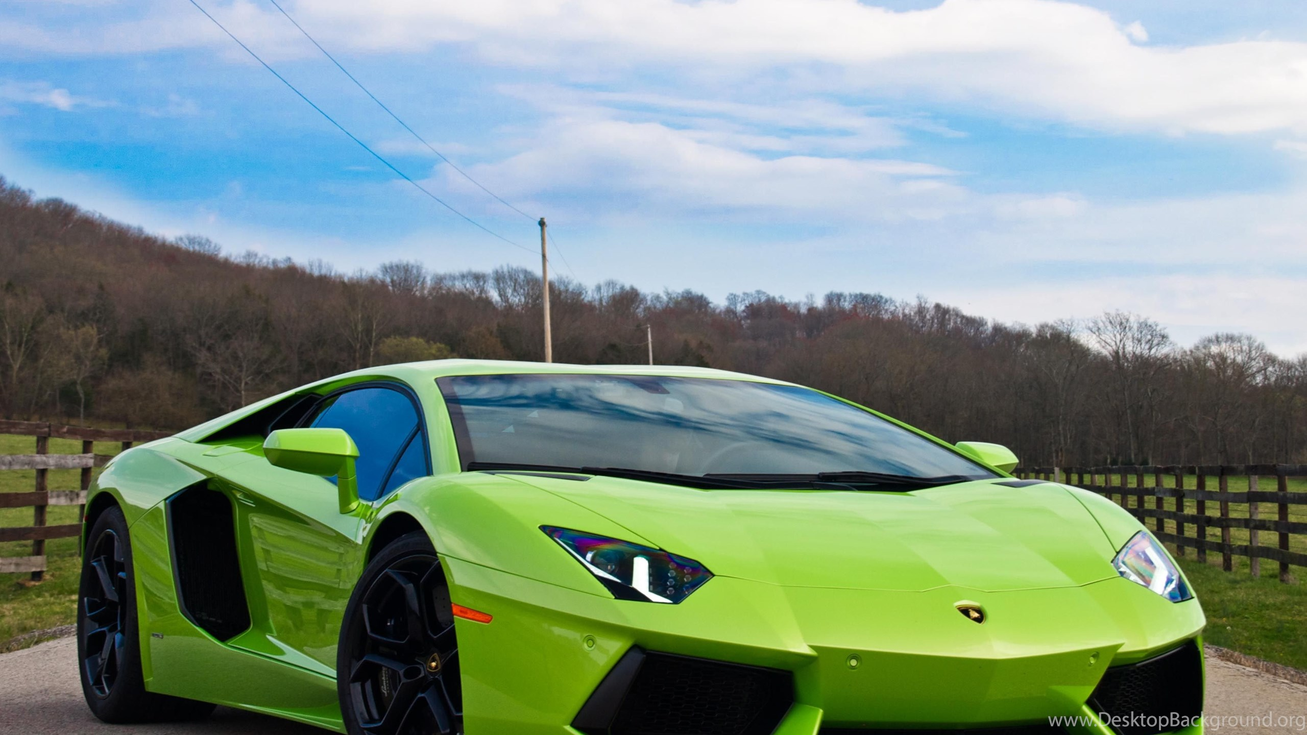 2012 Green Lamborghini Aventador Lp700 4 Car Wallpapers Hi Desktop Background