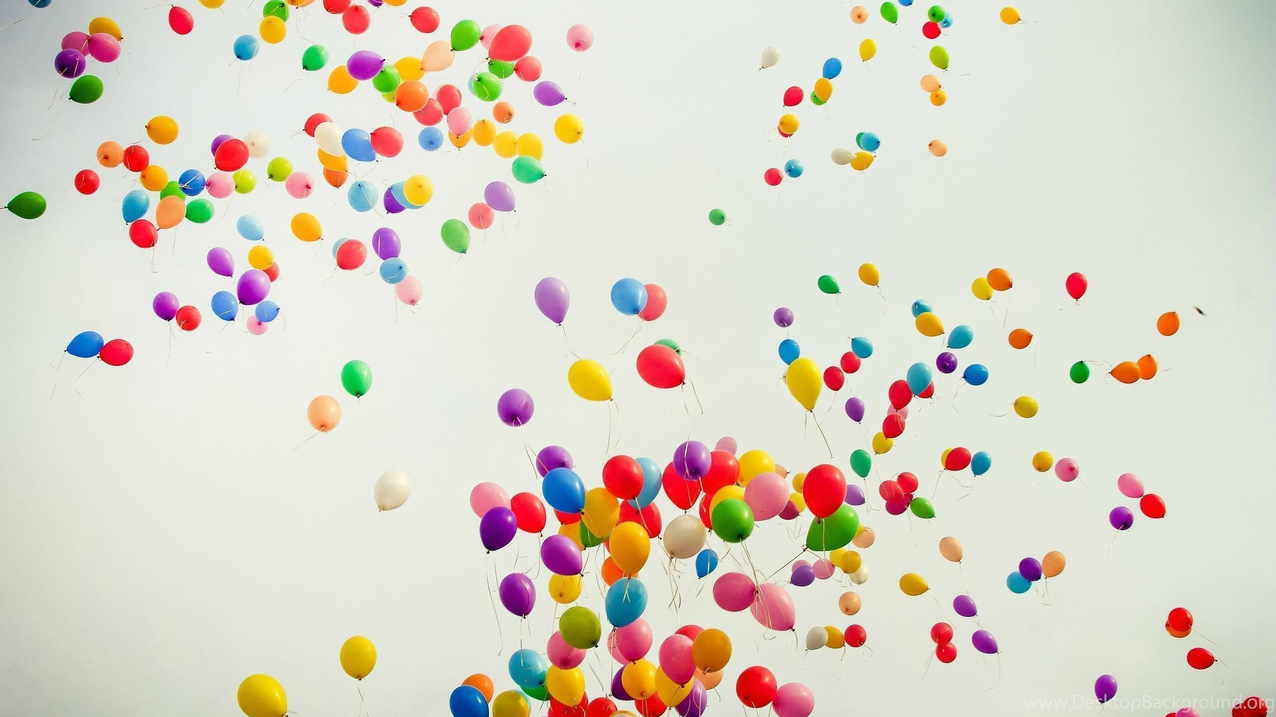 Colorful Shiny Balloons Wallpapers Photography Desktop