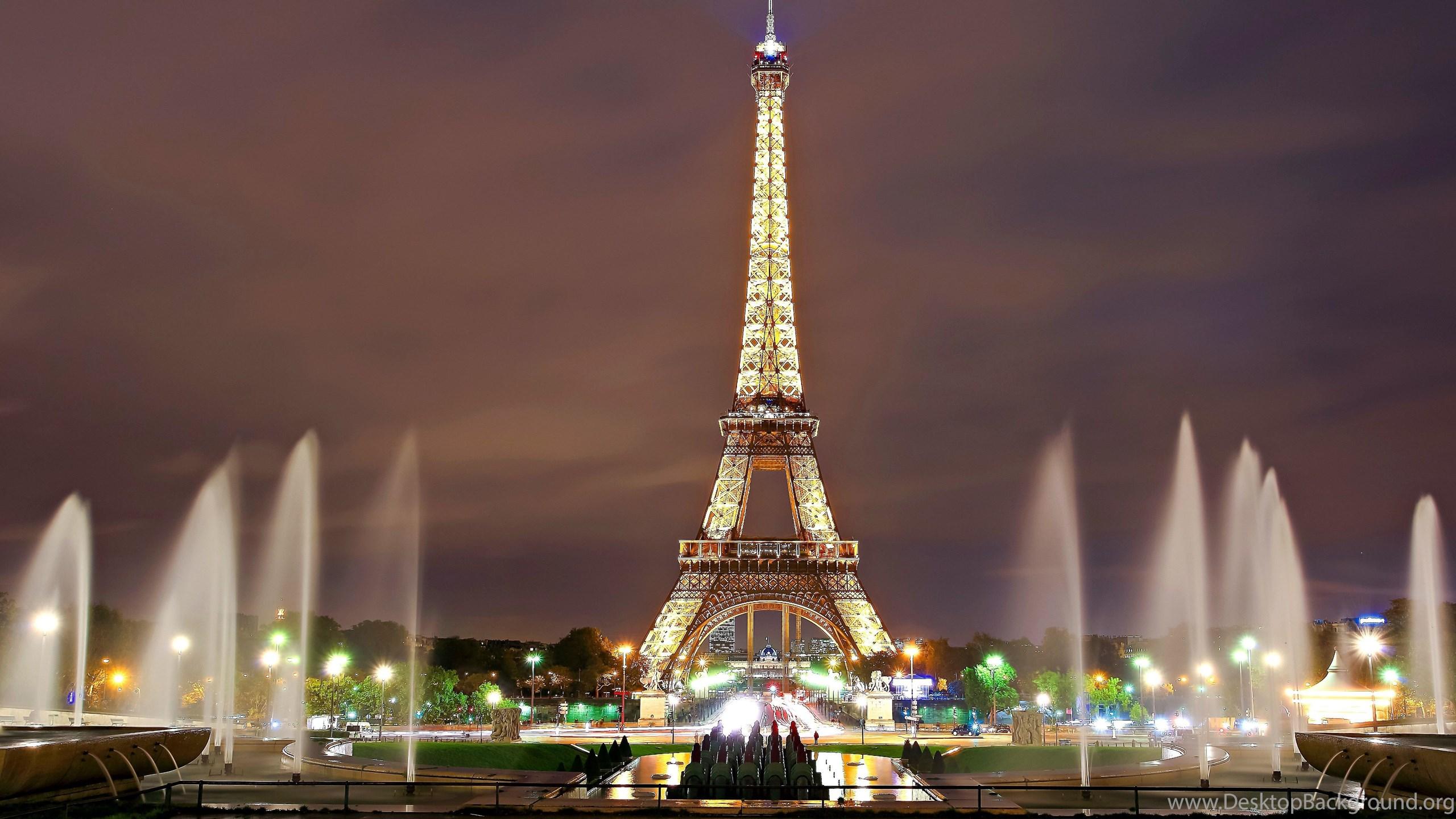Architecture Paris Eiffel Tower Desktop Wallpapers For Hd 16 9 Desktop Background