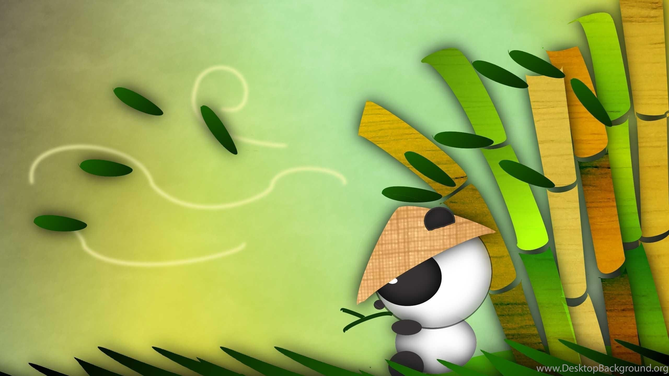 Cute Panda Bear Cartoon Wallpapers 1264283 Desktop Background