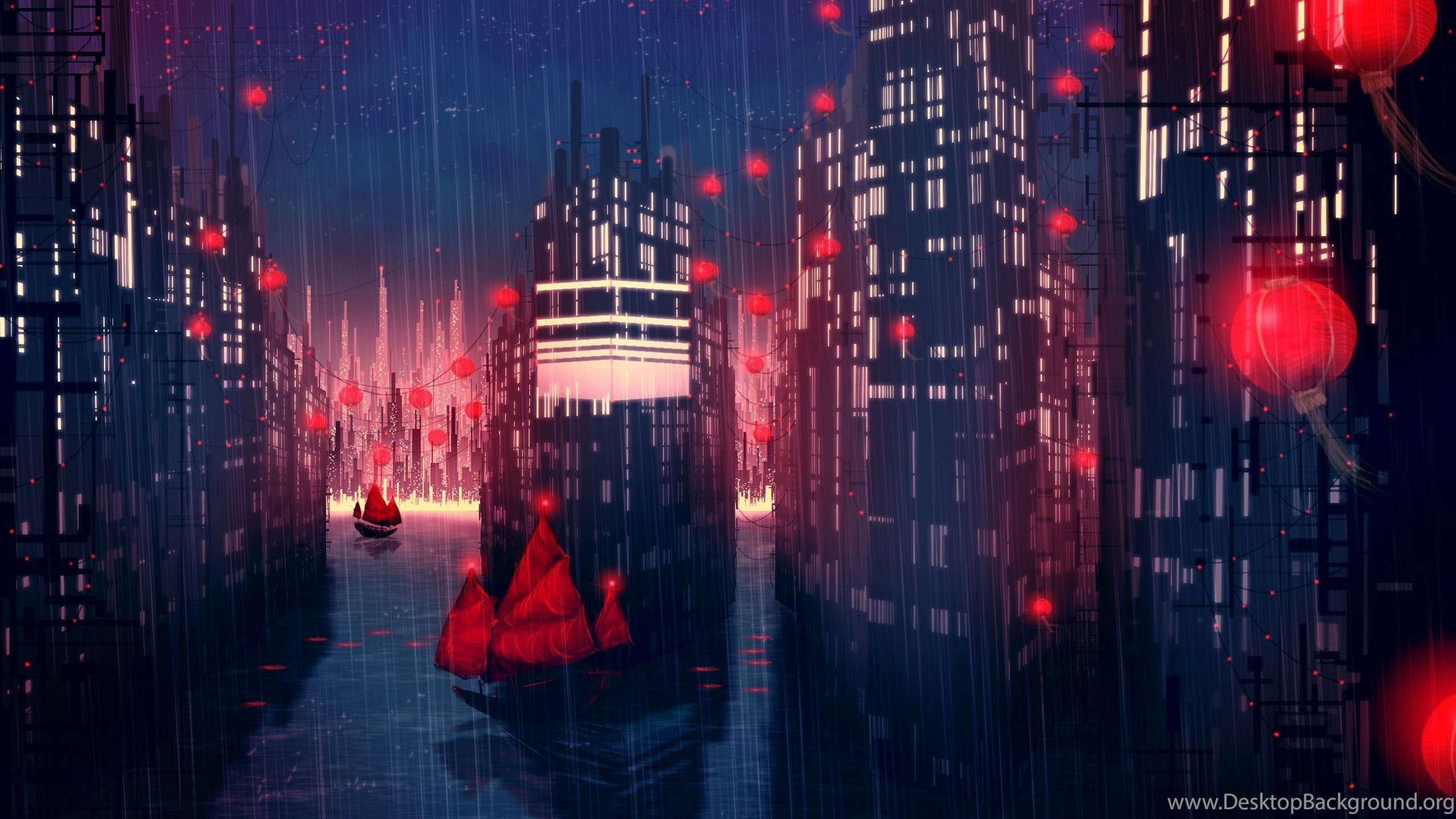 116792 night city anime wallpapers