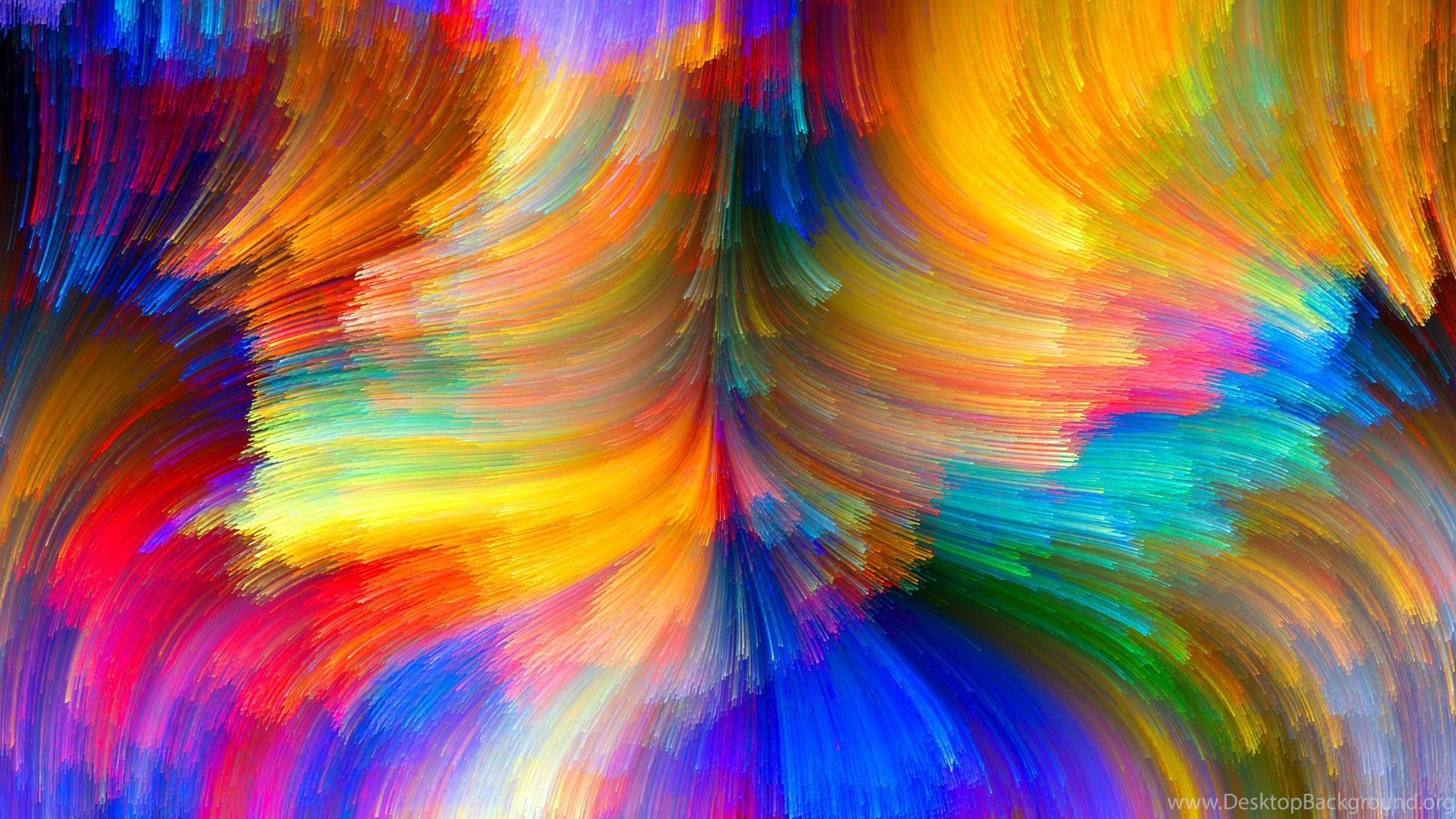 Abstract Bright Color High Resolution Wallpapers For Desktop Desktop Background