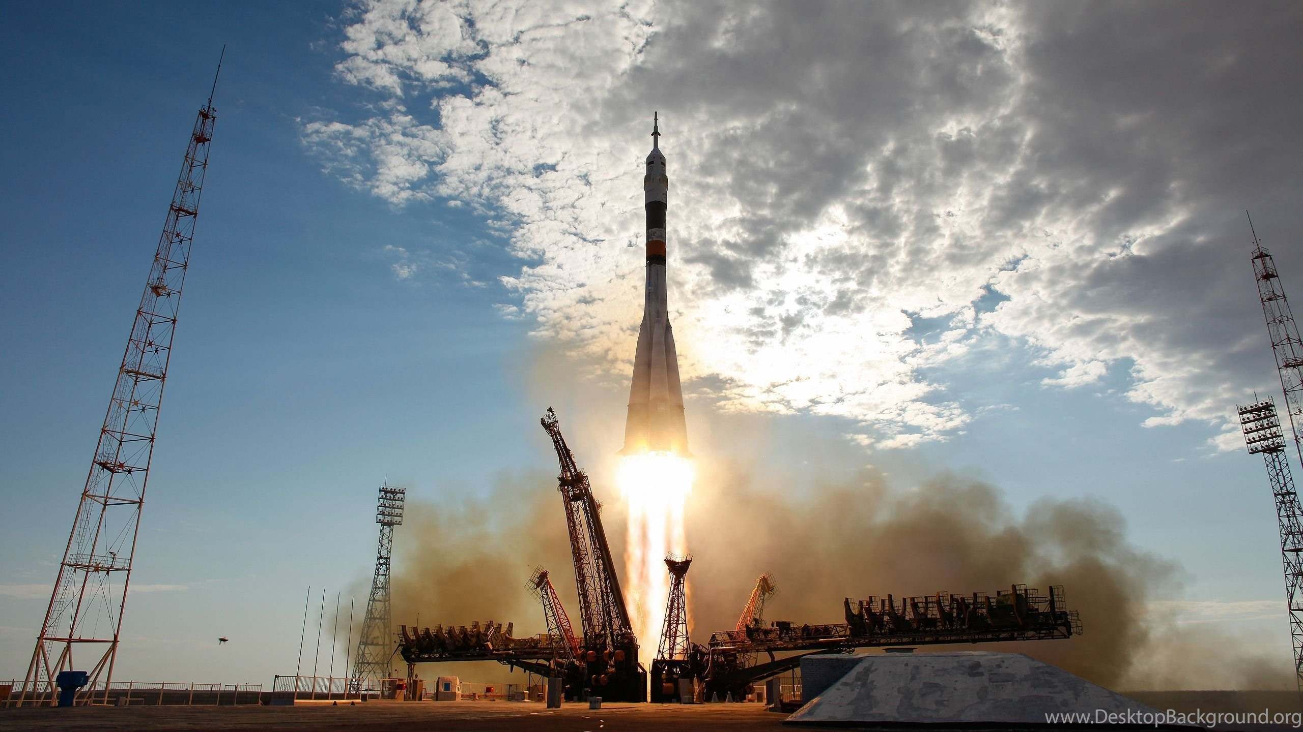 Soyuz Rocket Launch Wallpapers Desktop Background