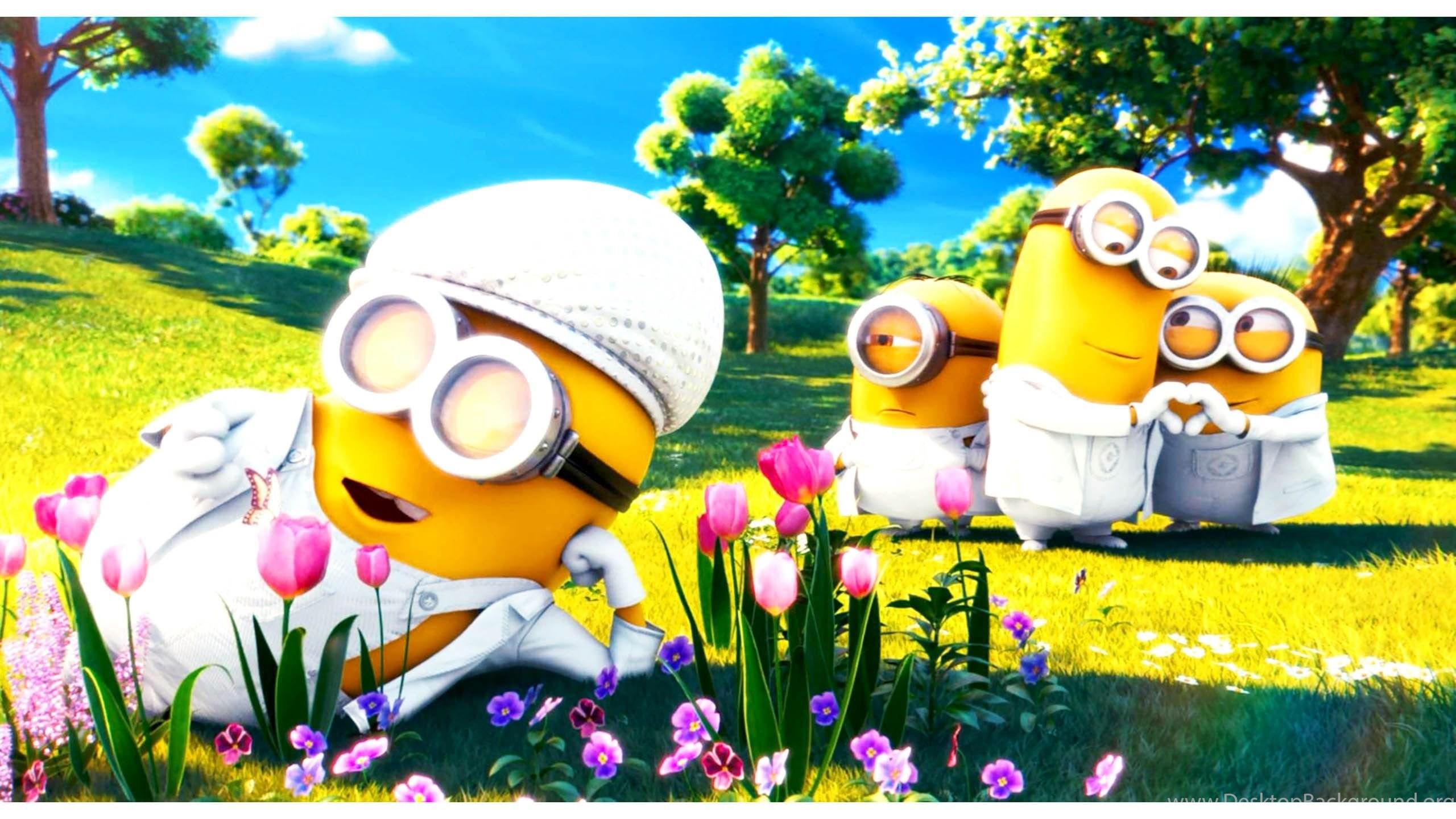 Minions Love Bananas 1080 Hd Wallpapers Desktop Background