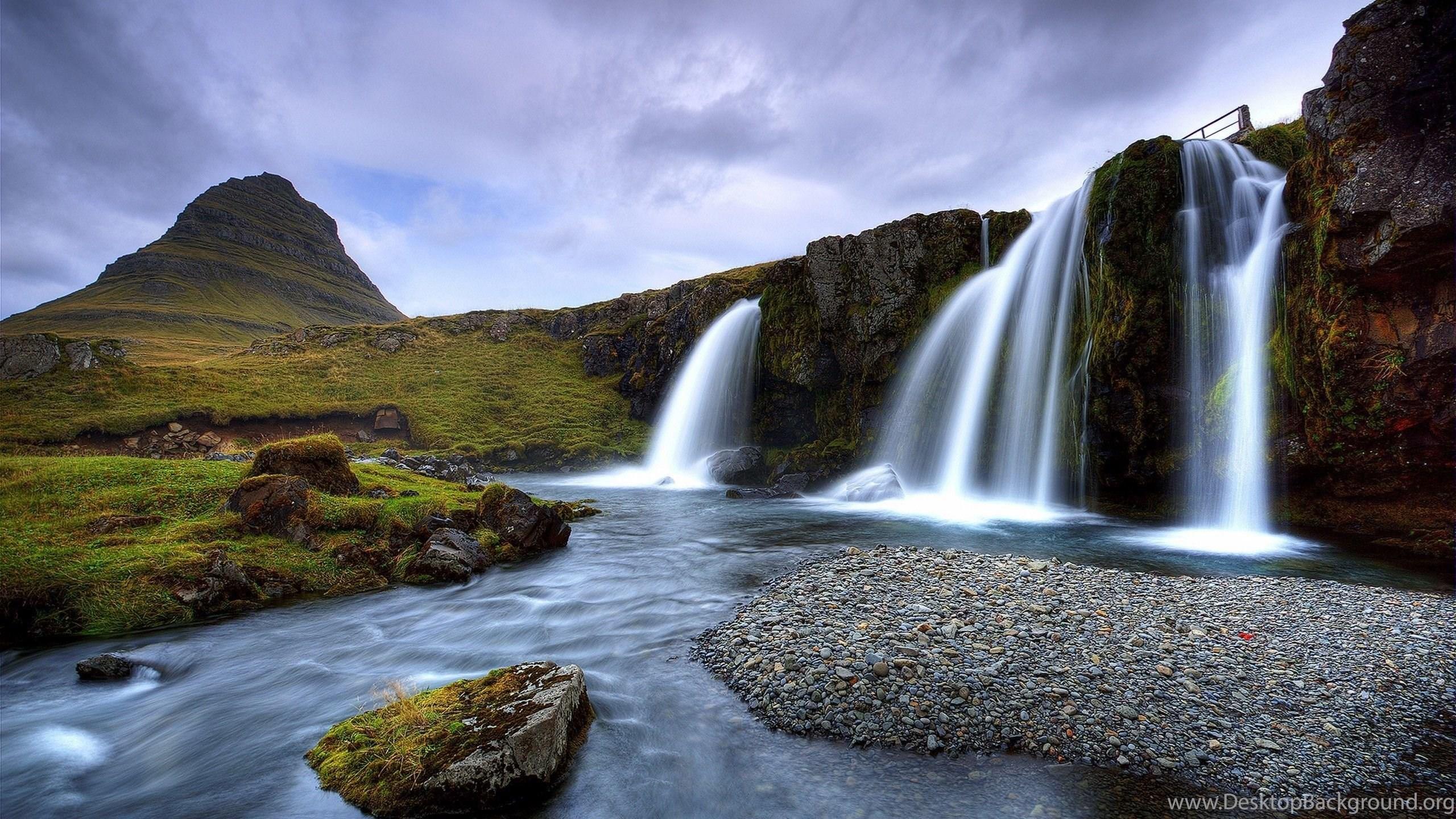 водопад горы  № 2560938 бесплатно