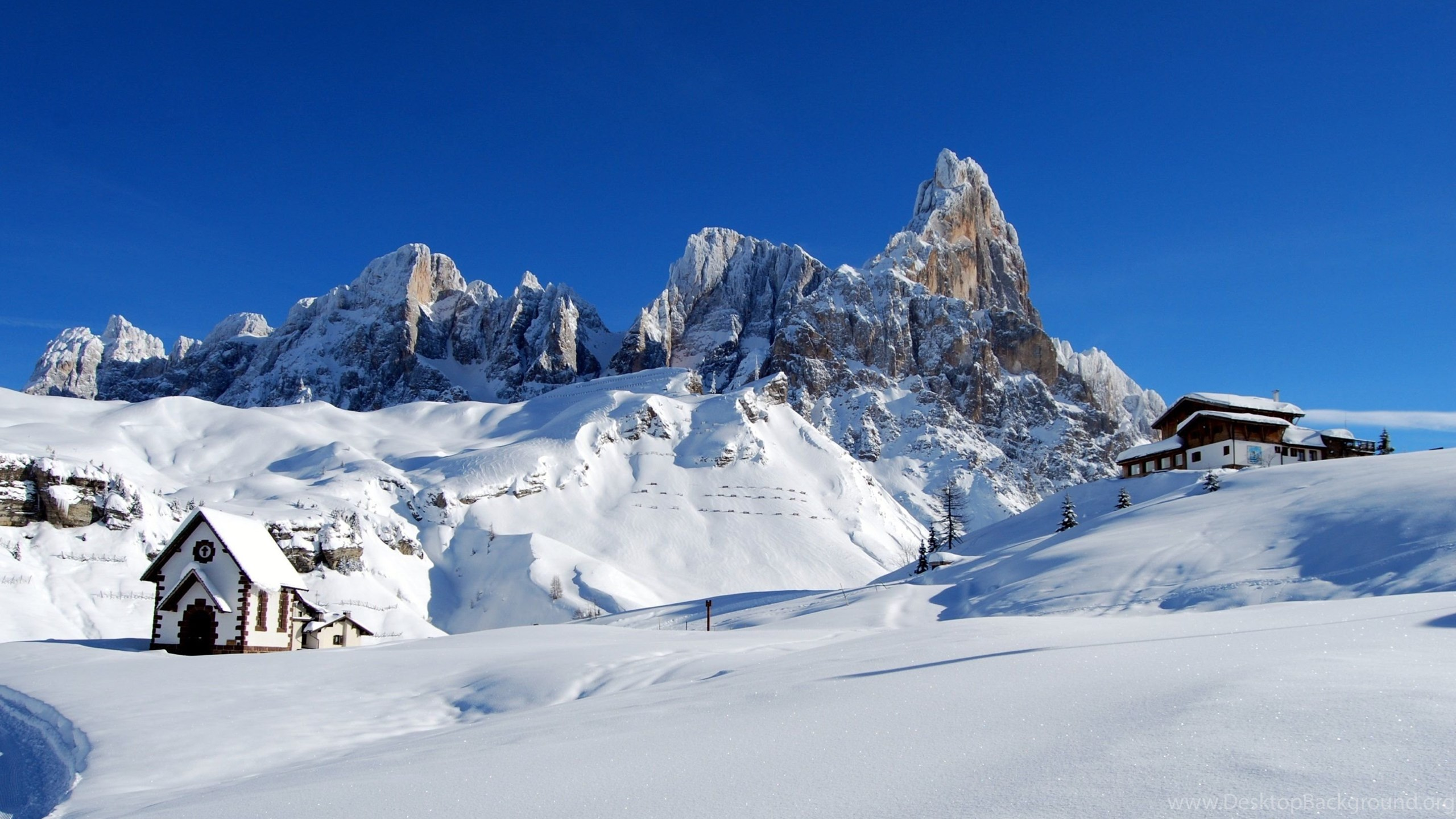 Dolomites. Alps Italy. Winter Snow Wallpapers :: HD