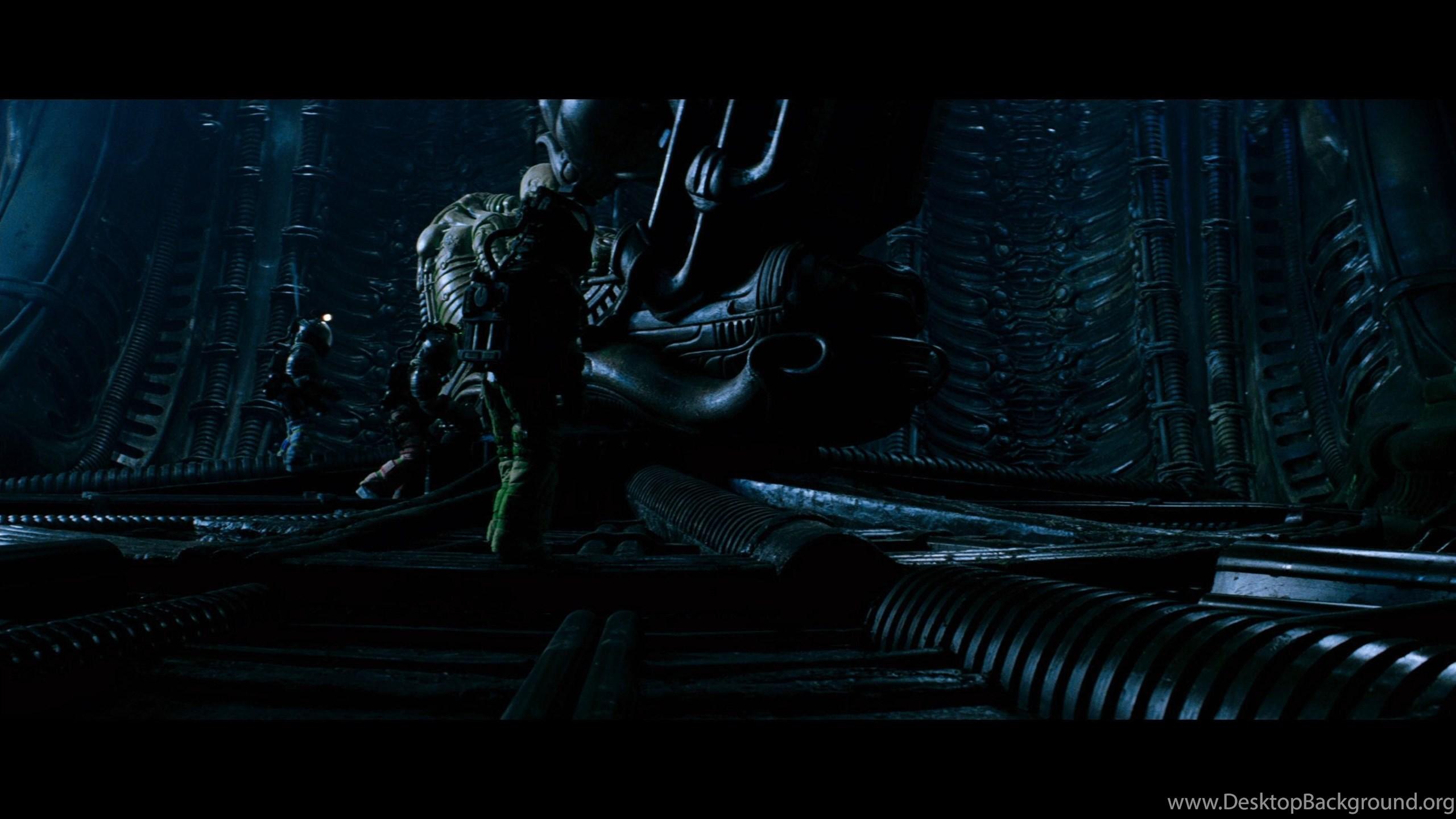 Chess Aliens Vs Predator Movie Artwork Desktop Background