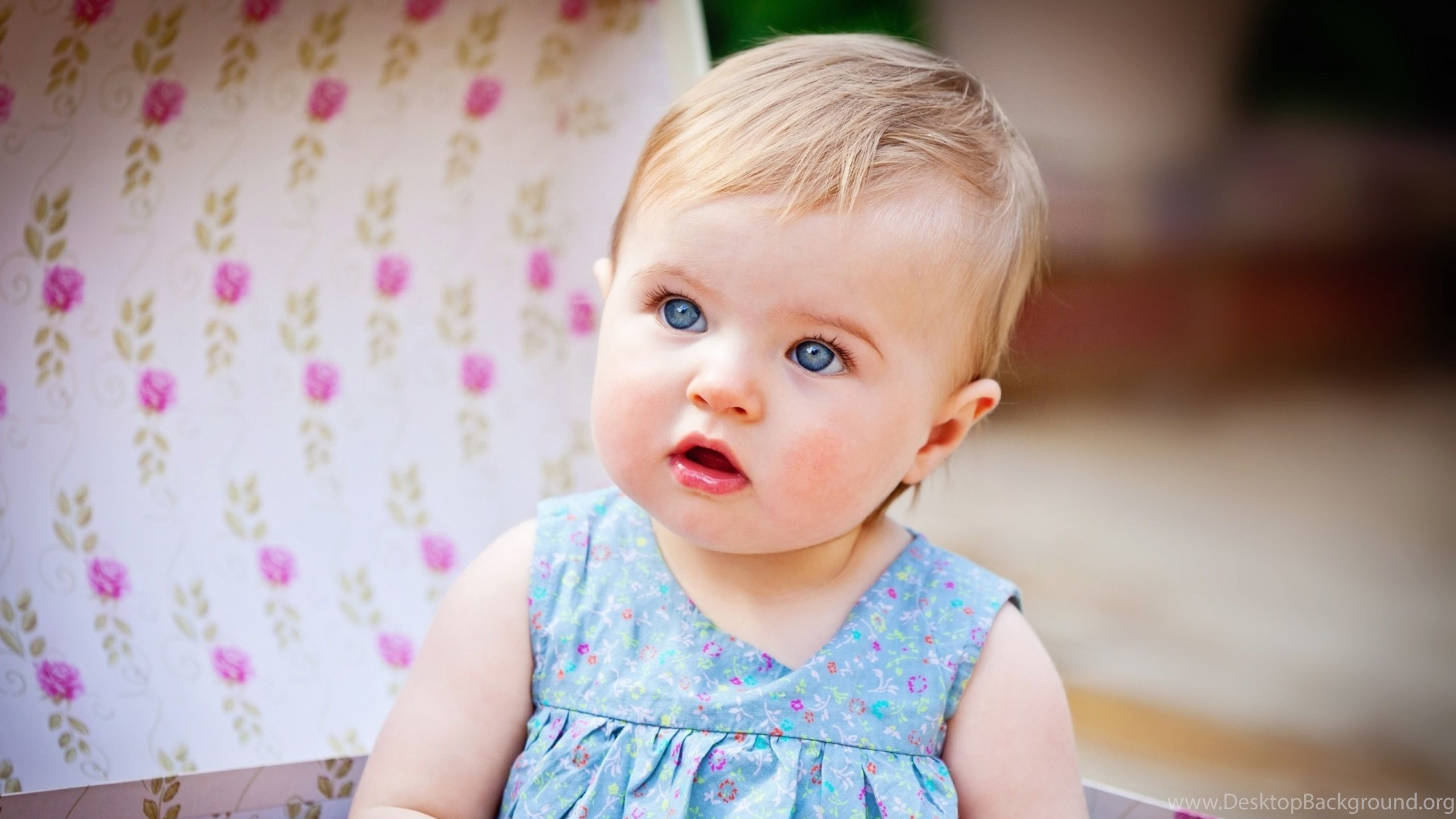 Cute Baby Girls Best Hd Wallpaper Jpg Desktop Background