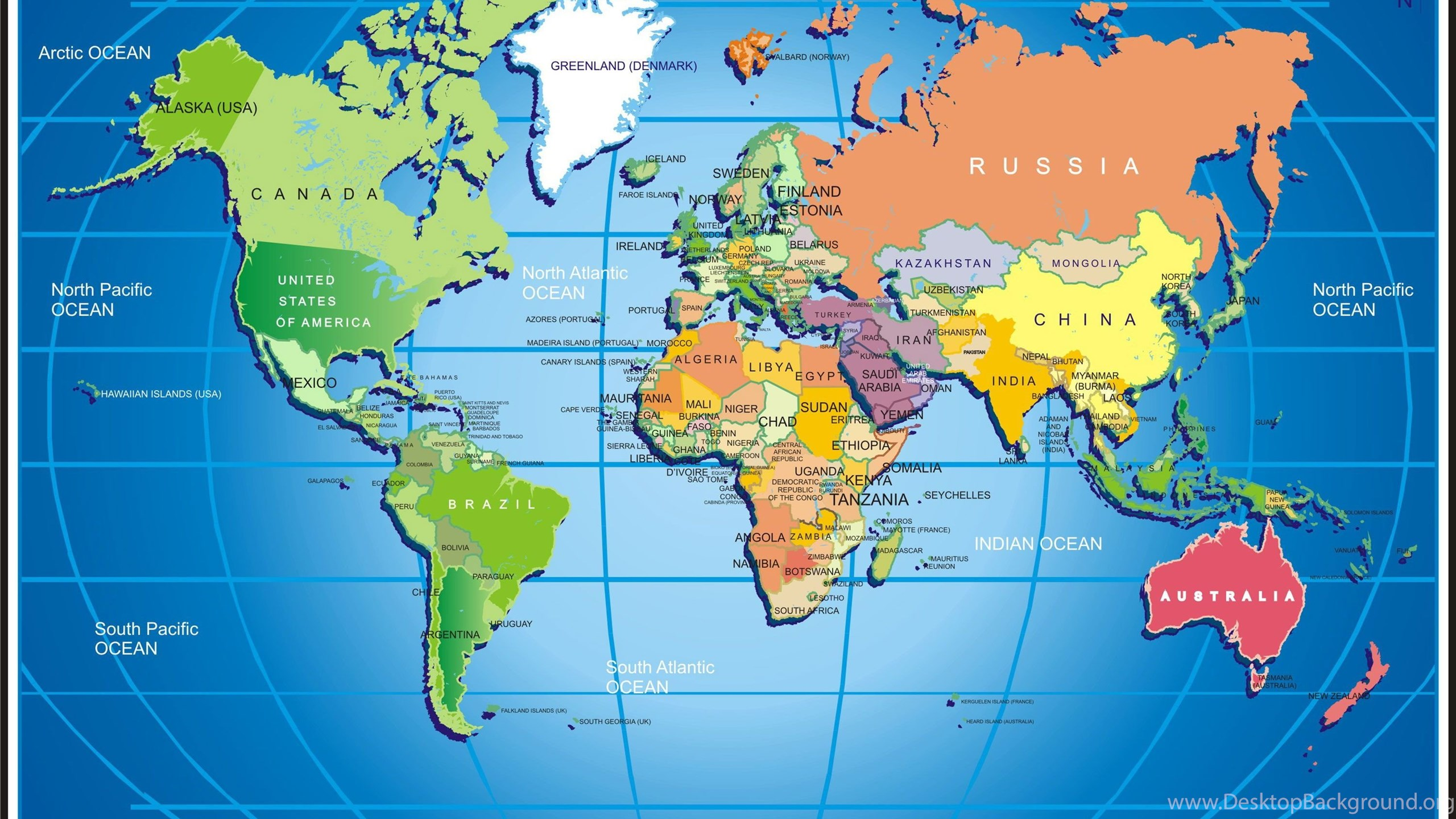 Widescreen world map hd wallpaper download world map freeg netbook gumiabroncs Choice Image