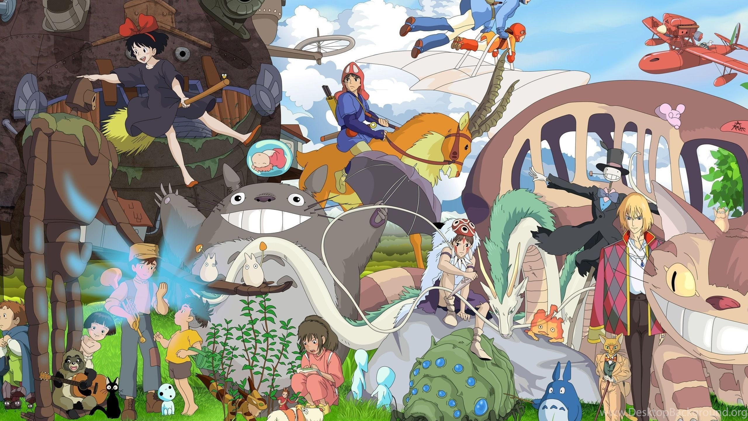 Studio Ghibli Characters Wallpapers Anime Wallpapers