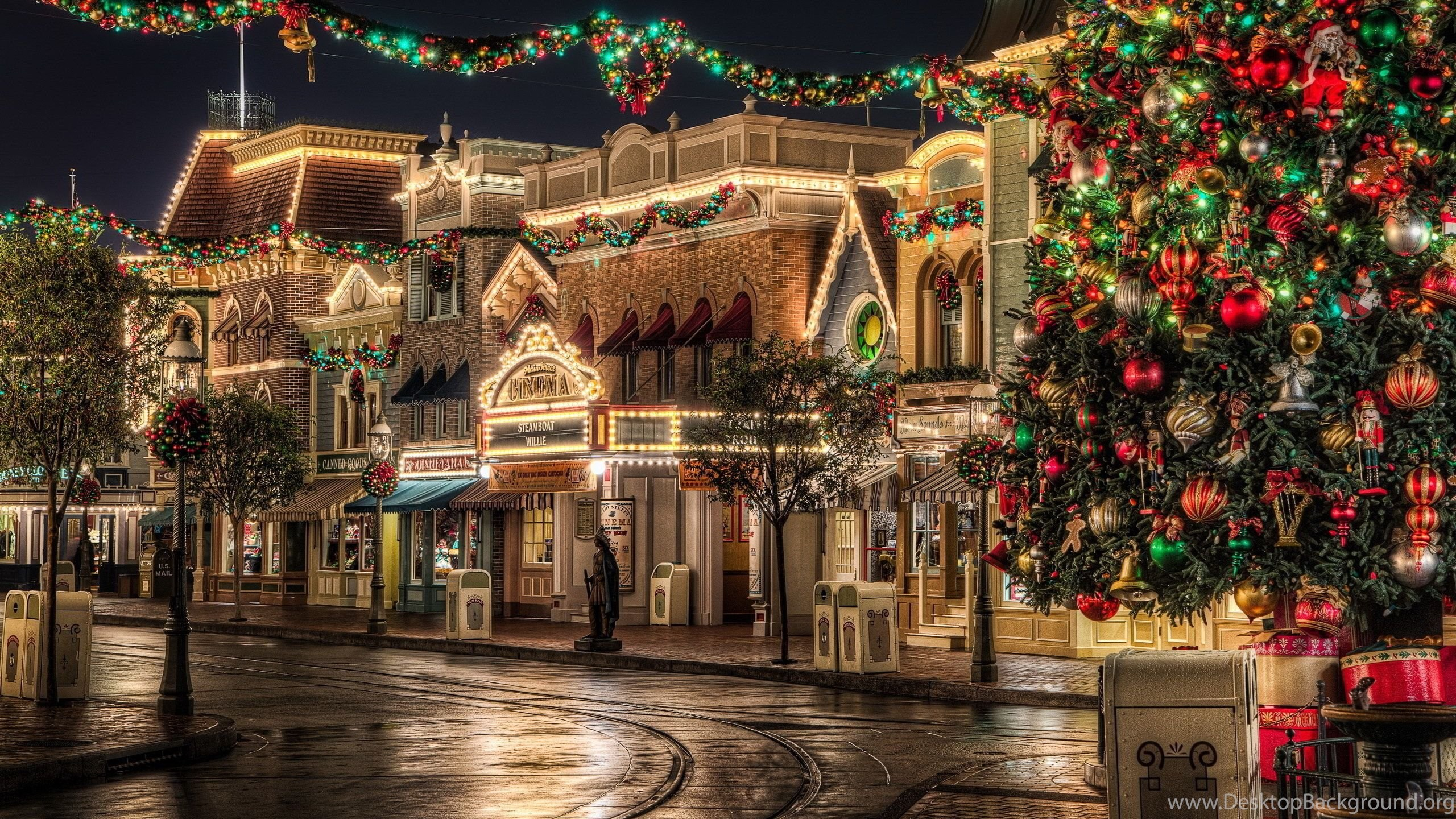 anaheim california xmas wallpapers desktop background