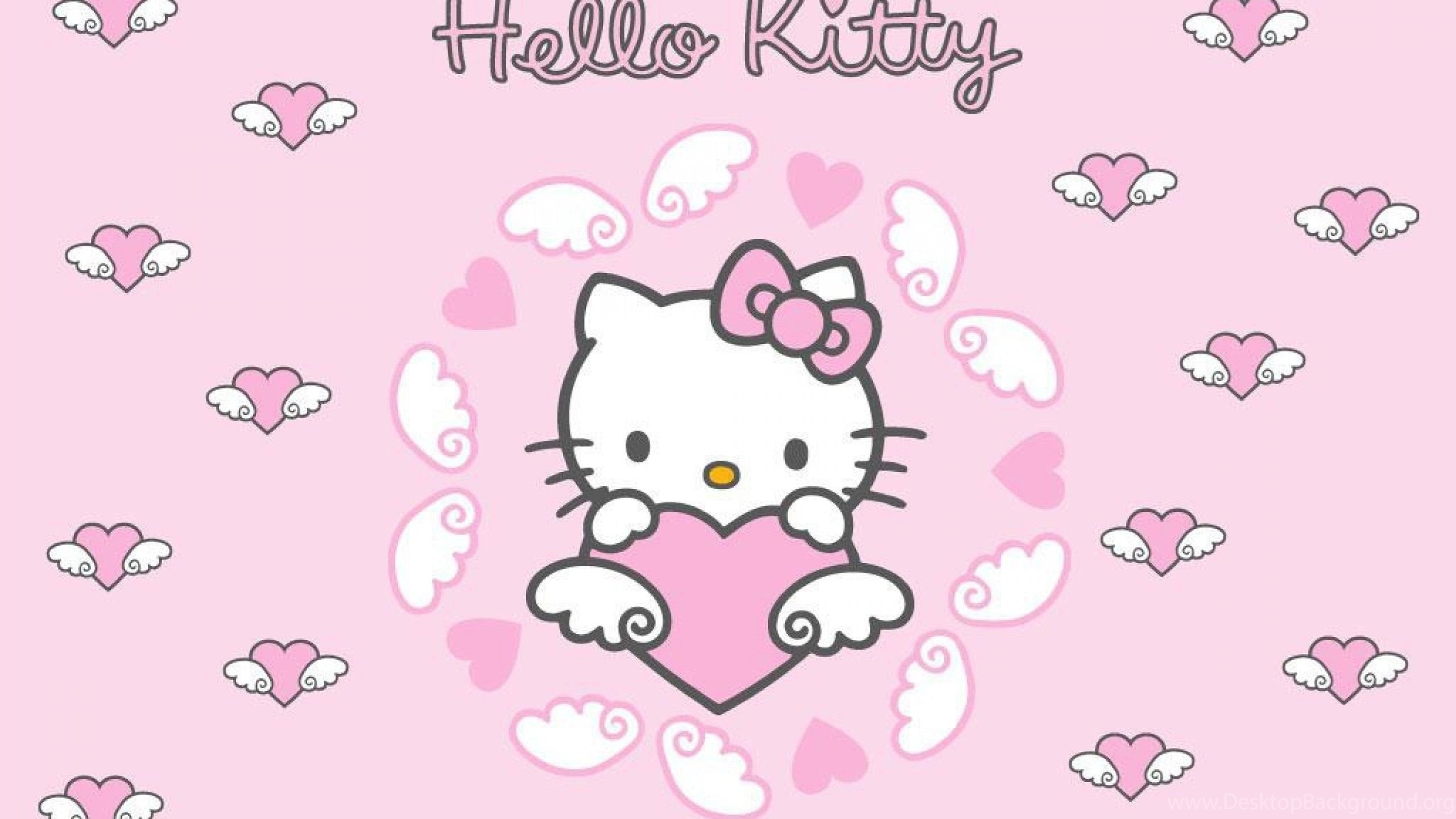 photos hello kitty with bow cute wallpapers desktop background