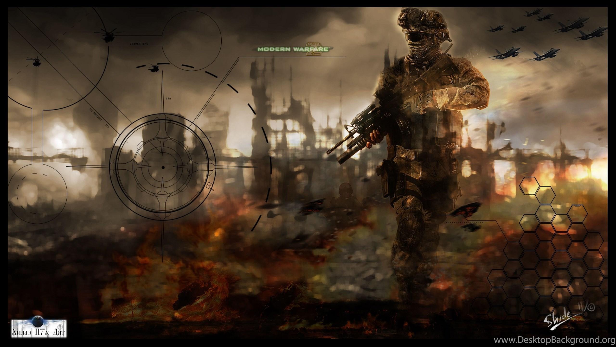 4k Ultra Hd Call Of Duty Modern Warfare 2 Wallpapers Hd Desktop