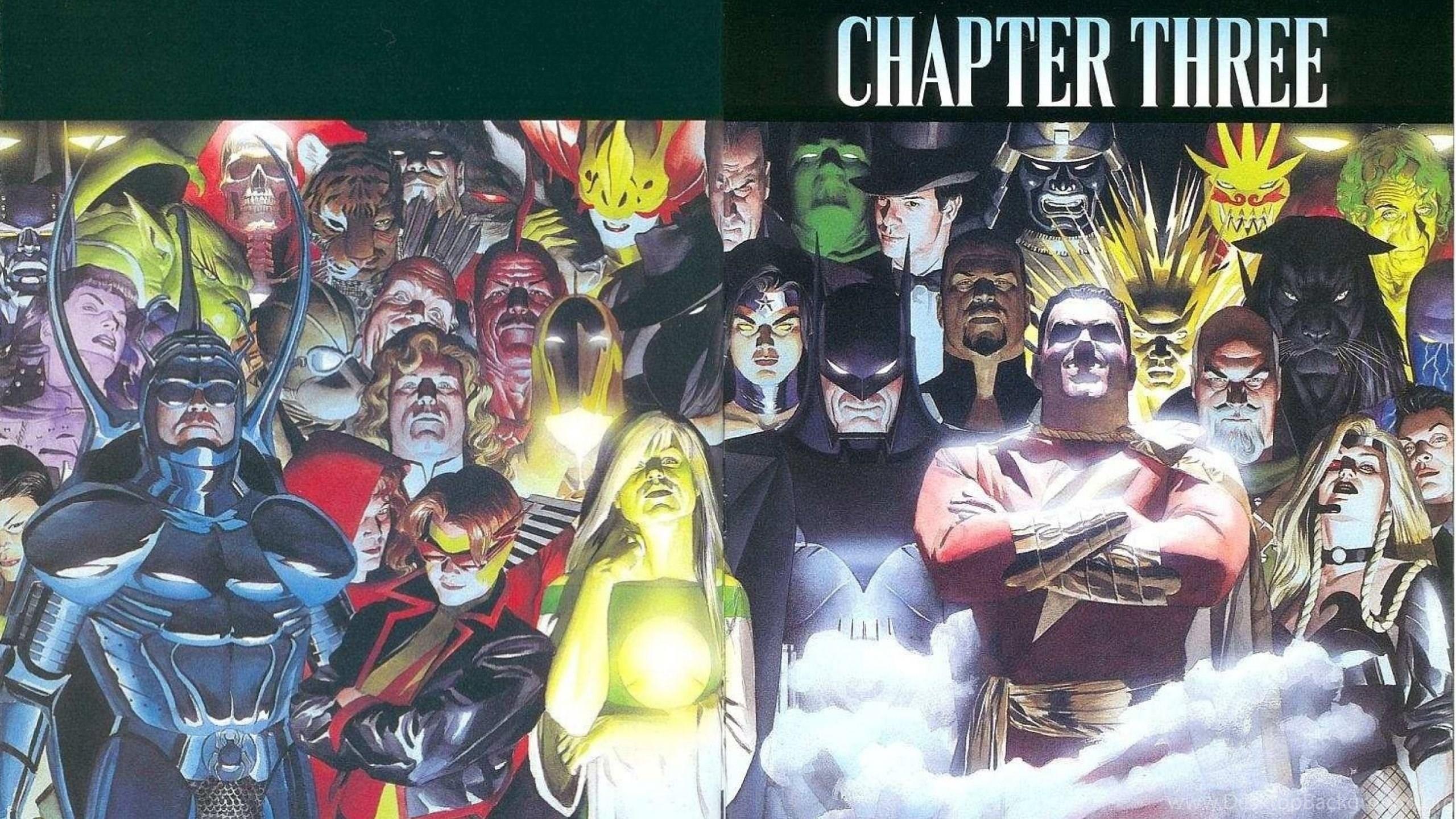 Wallpapers Alex Ross Dc Comics Justice League Kingdom Come X