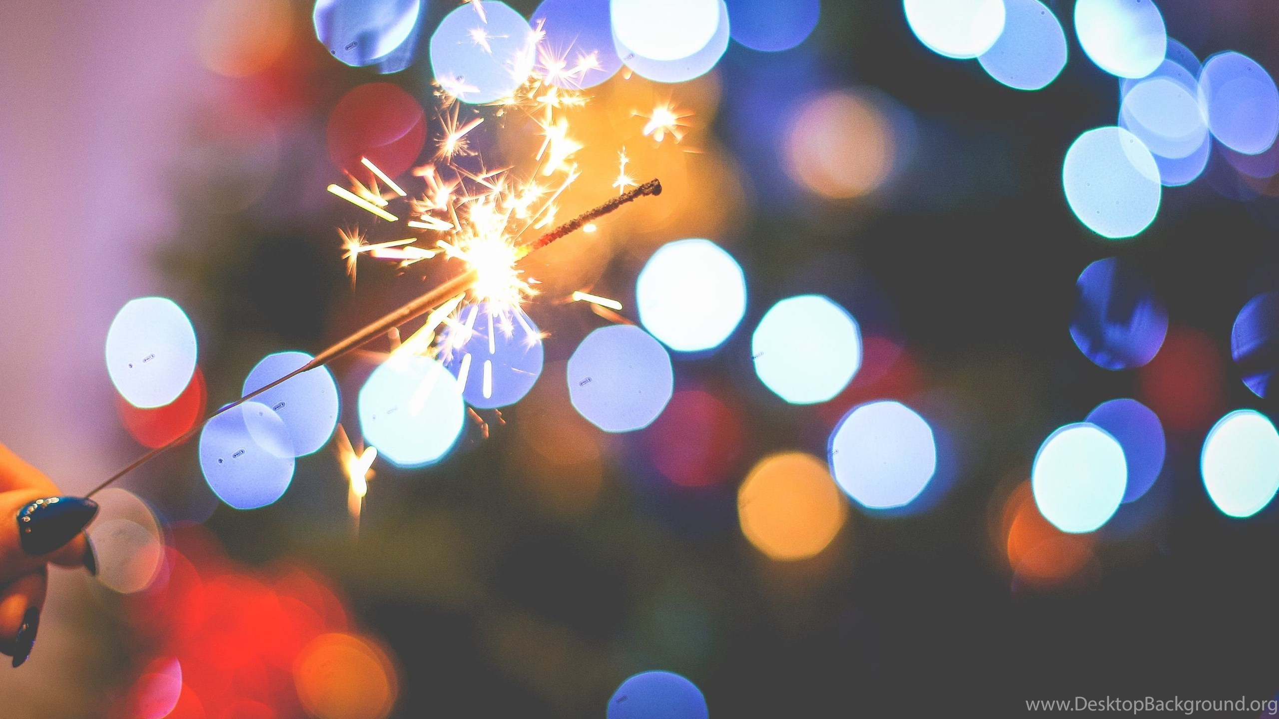 Sparklers In The New Years Eve Wallpapers :: HD Wallpapers Desktop ...