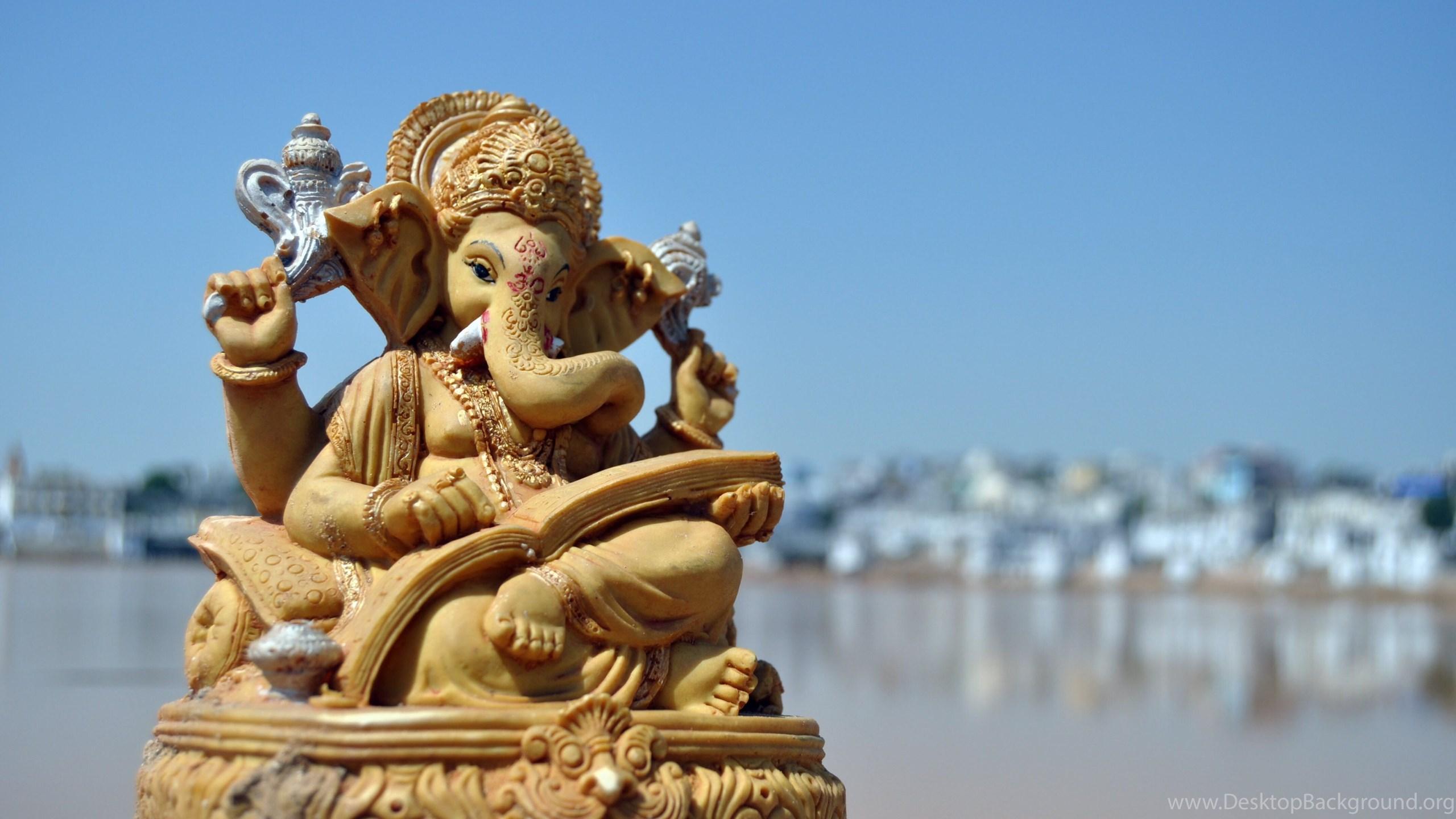 Beautiful Natural Desktop Ganesh Ji 3D Wallpapers ...