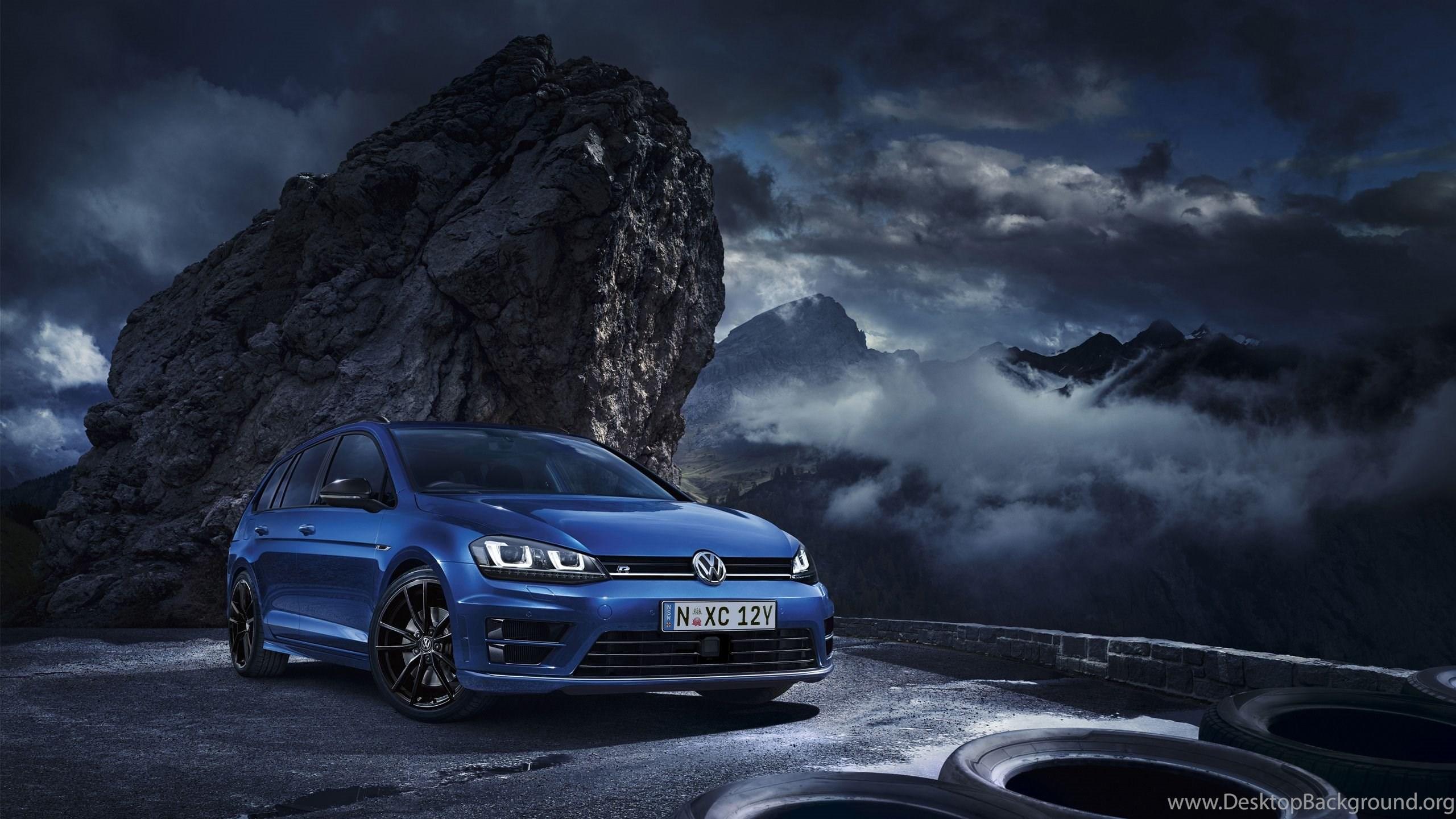 2015 Volkswagen Golf R Wagon Wallpapers Desktop Background