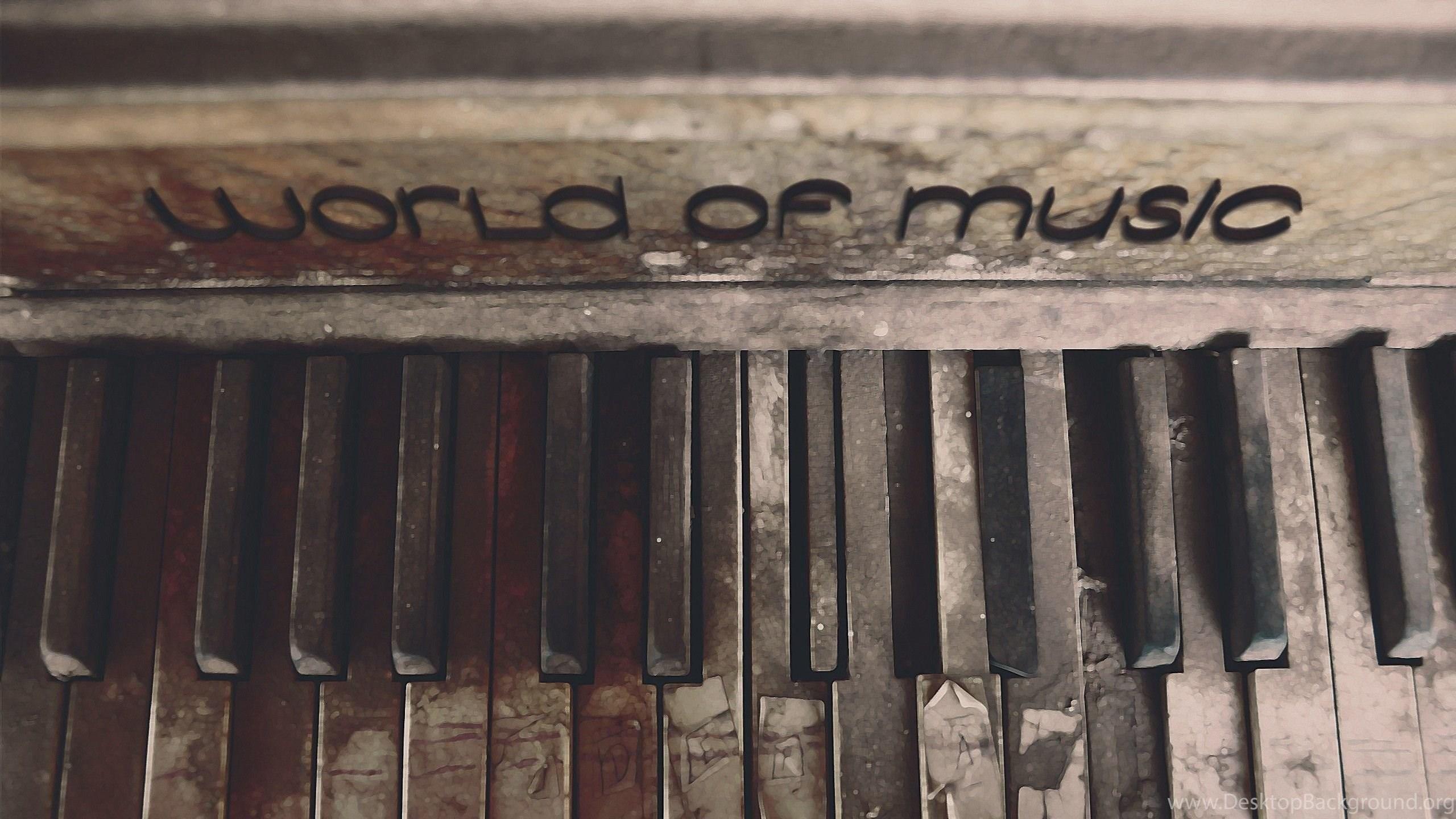 Piano Music Vintage Wallpapers Hd Desktop Background
