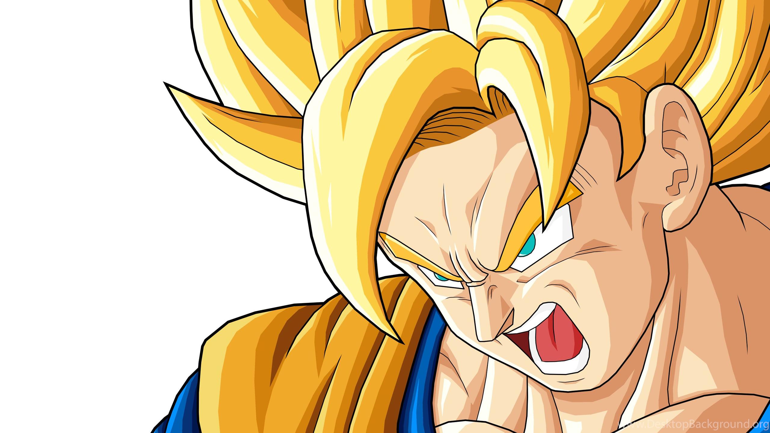 sun goku super saiyan dragon ball z hd wallpap desktop background