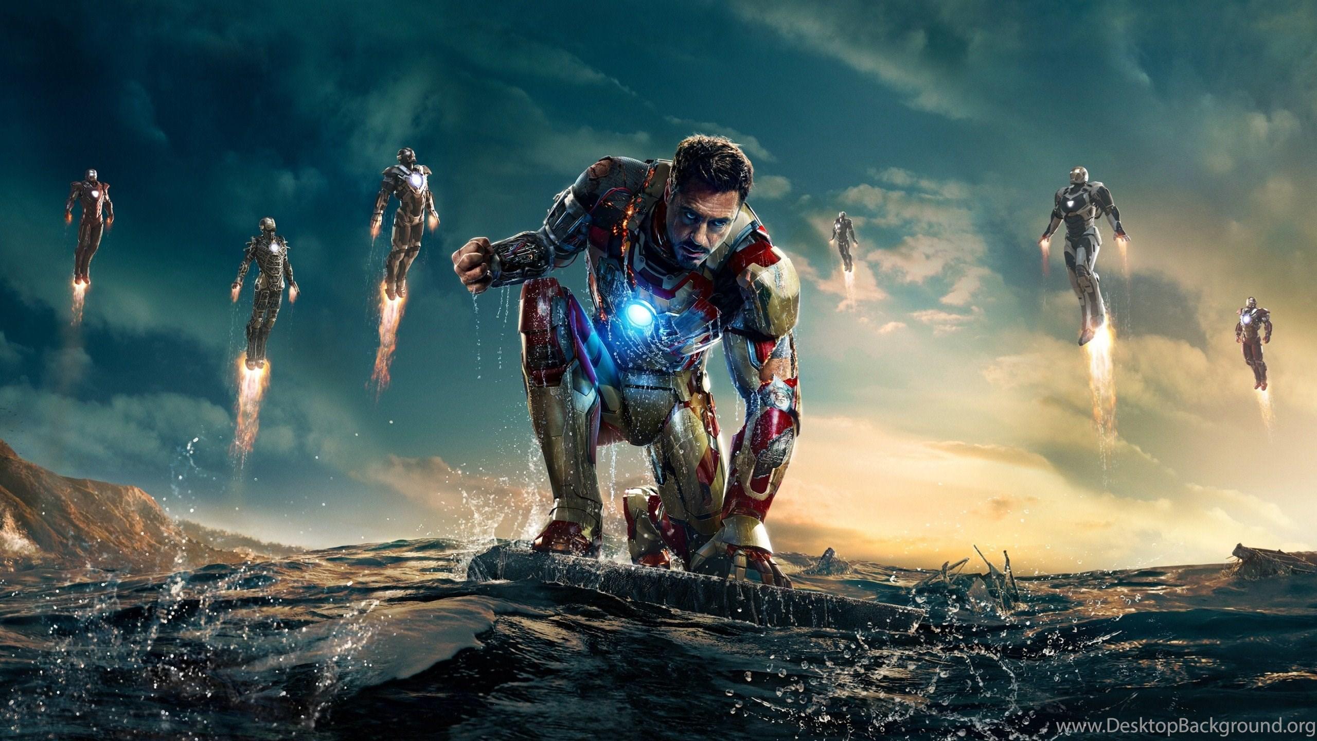 Iron Man 3 Movie Poster Wallpapers Desktop Background