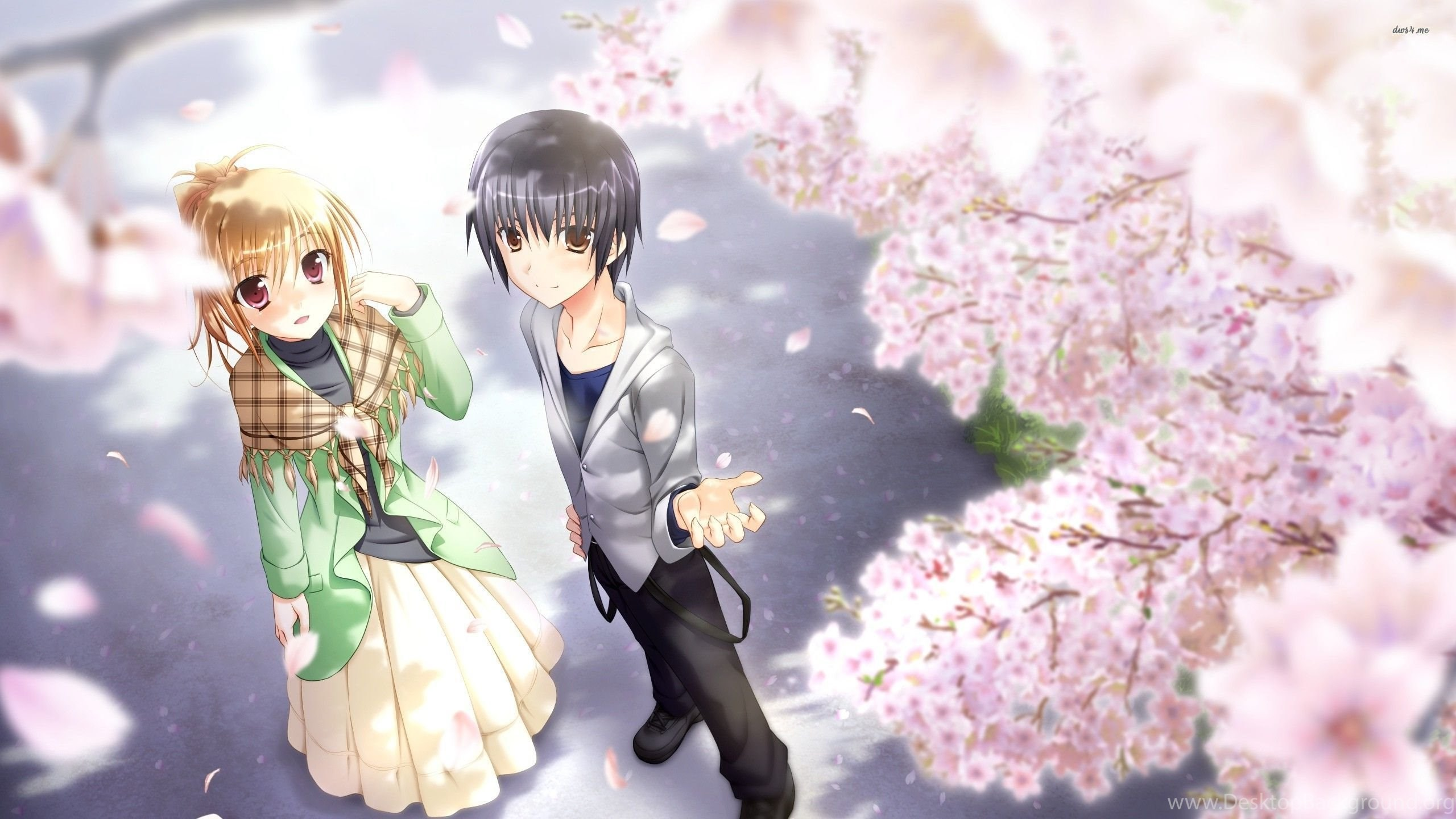 Cute Couple Wallpapers Anime Desktop Background