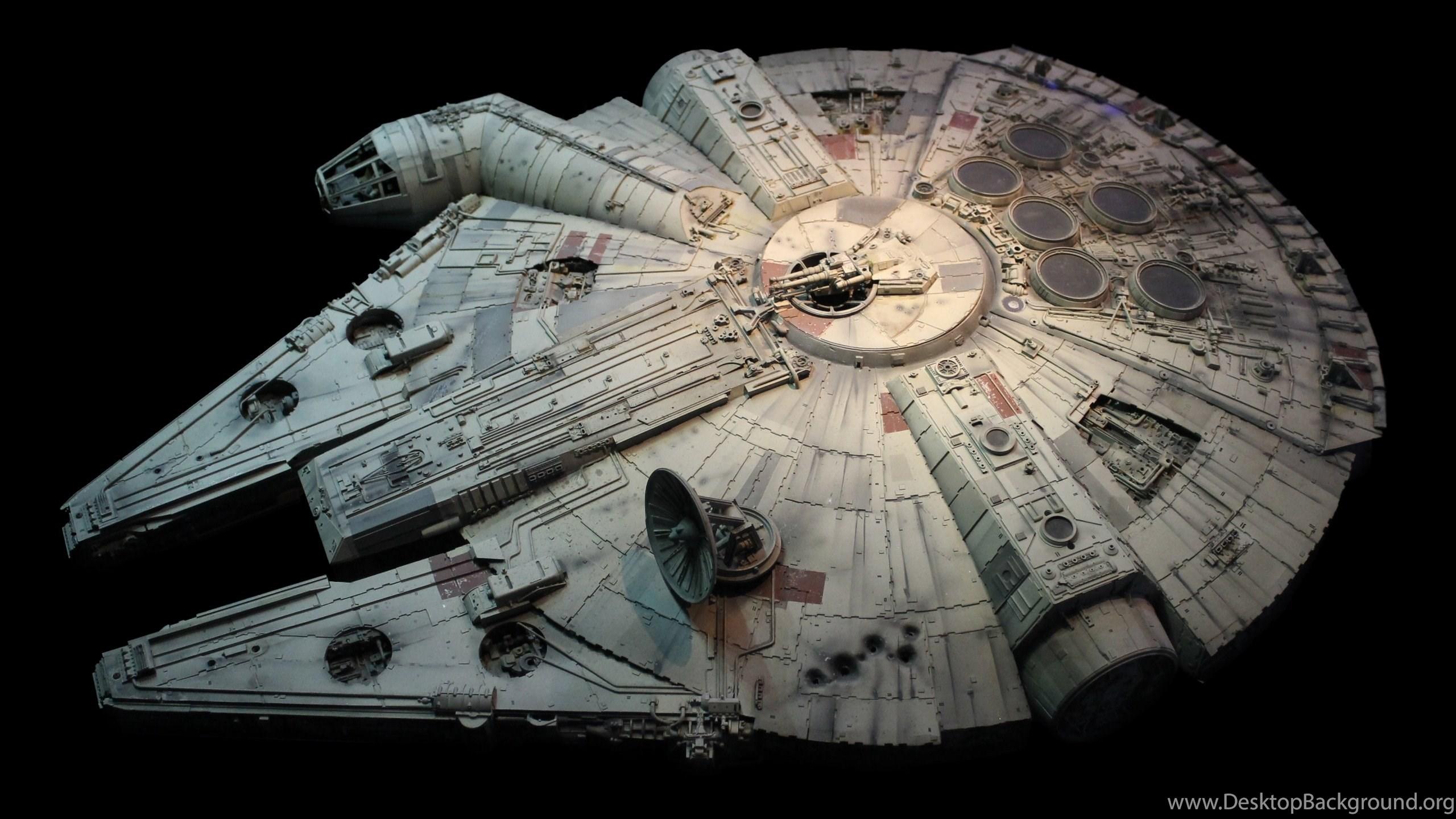 Millennium Falcon Wallpaper Starwars Desktop Background