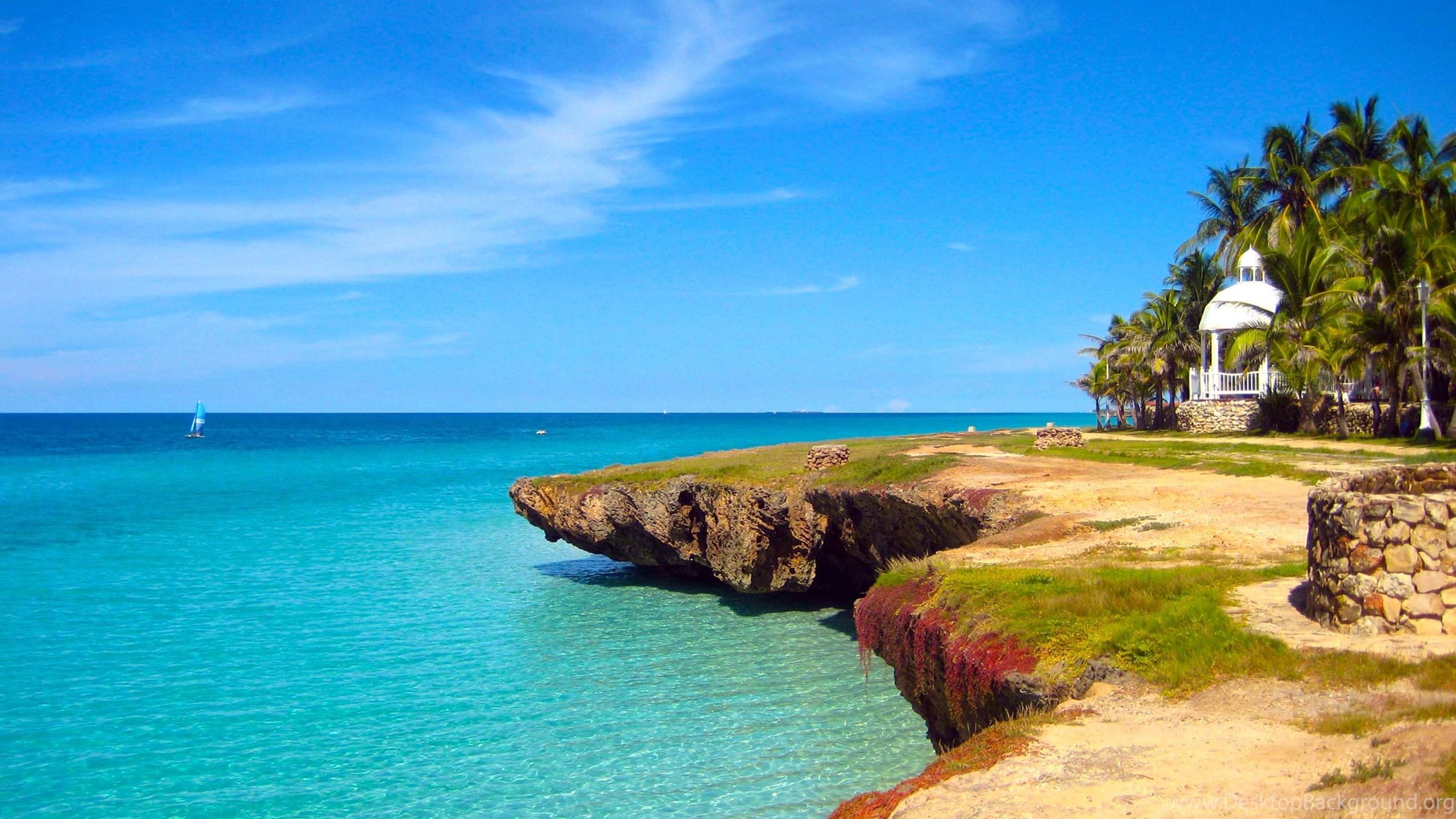 free caribbean beach wallpapers wallpapers cave desktop background
