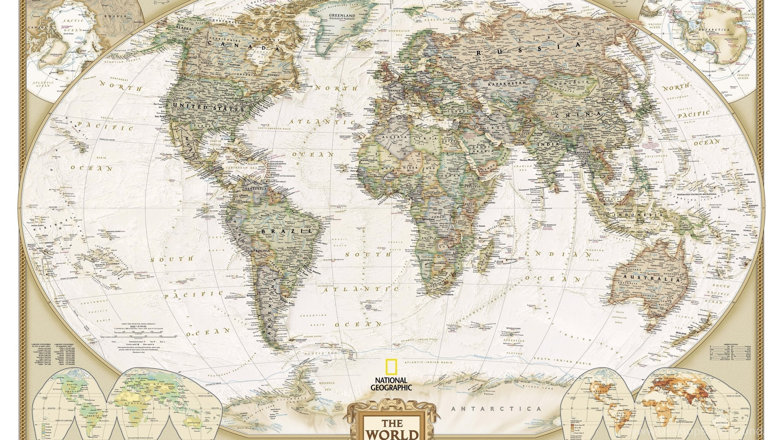 National geographic world map wallpapers 1103450 desktop background netbook gumiabroncs Images